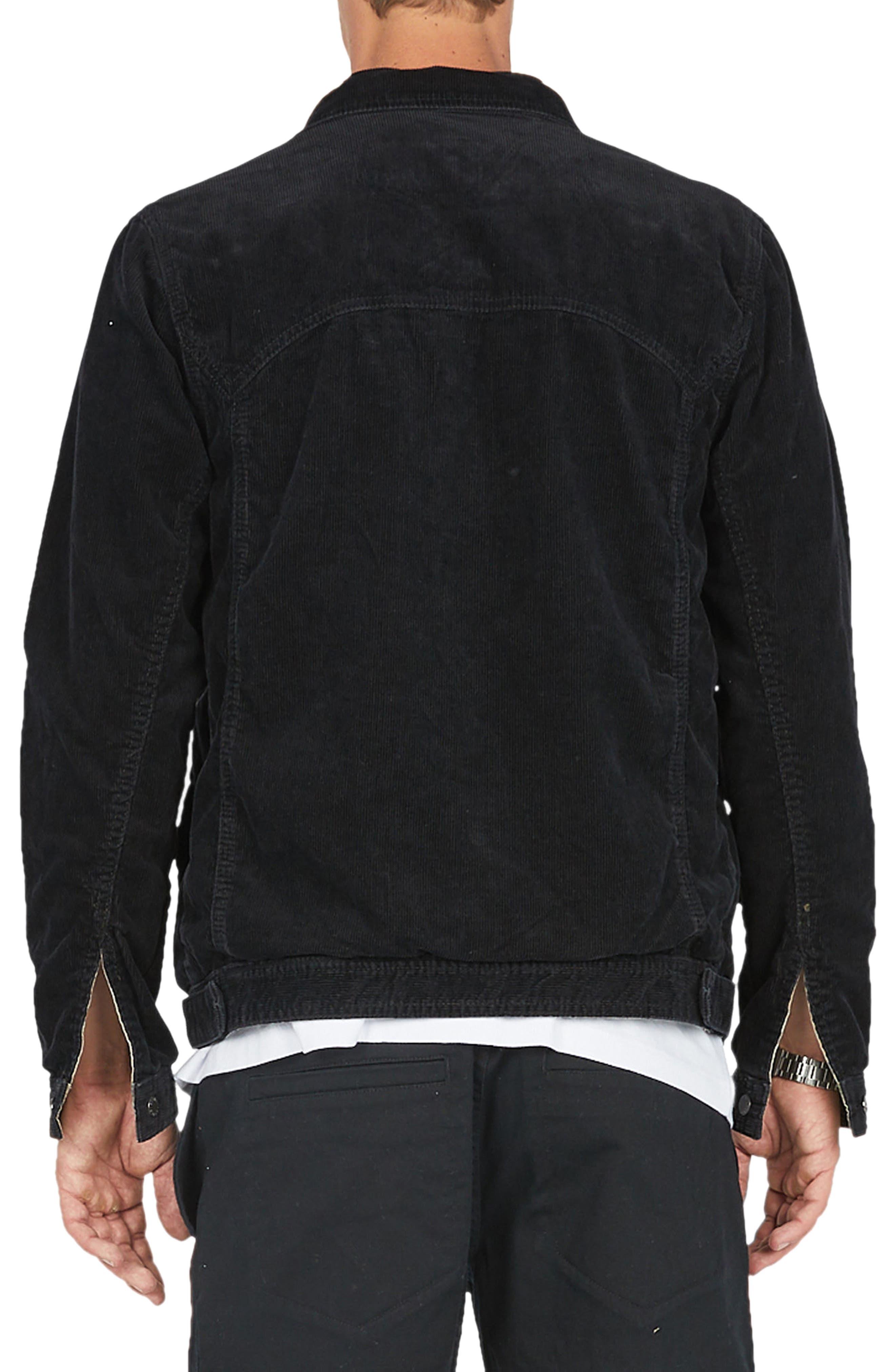 Reversible Denim Jacket,                             Alternate thumbnail 3, color,                             001