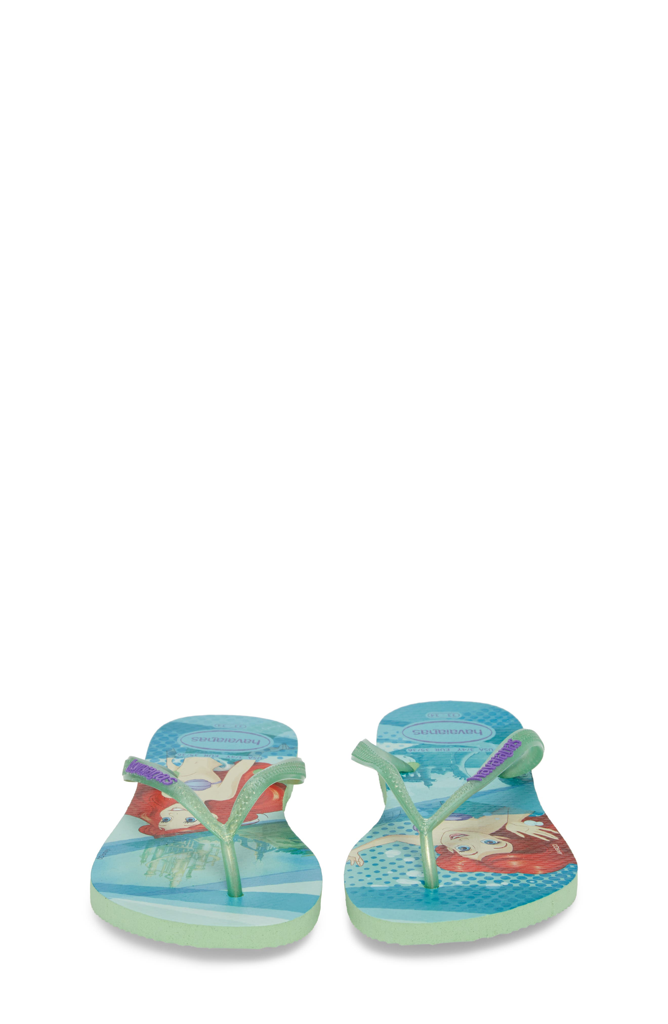 'Disney Princess' Flip Flops,                             Alternate thumbnail 5, color,                             301