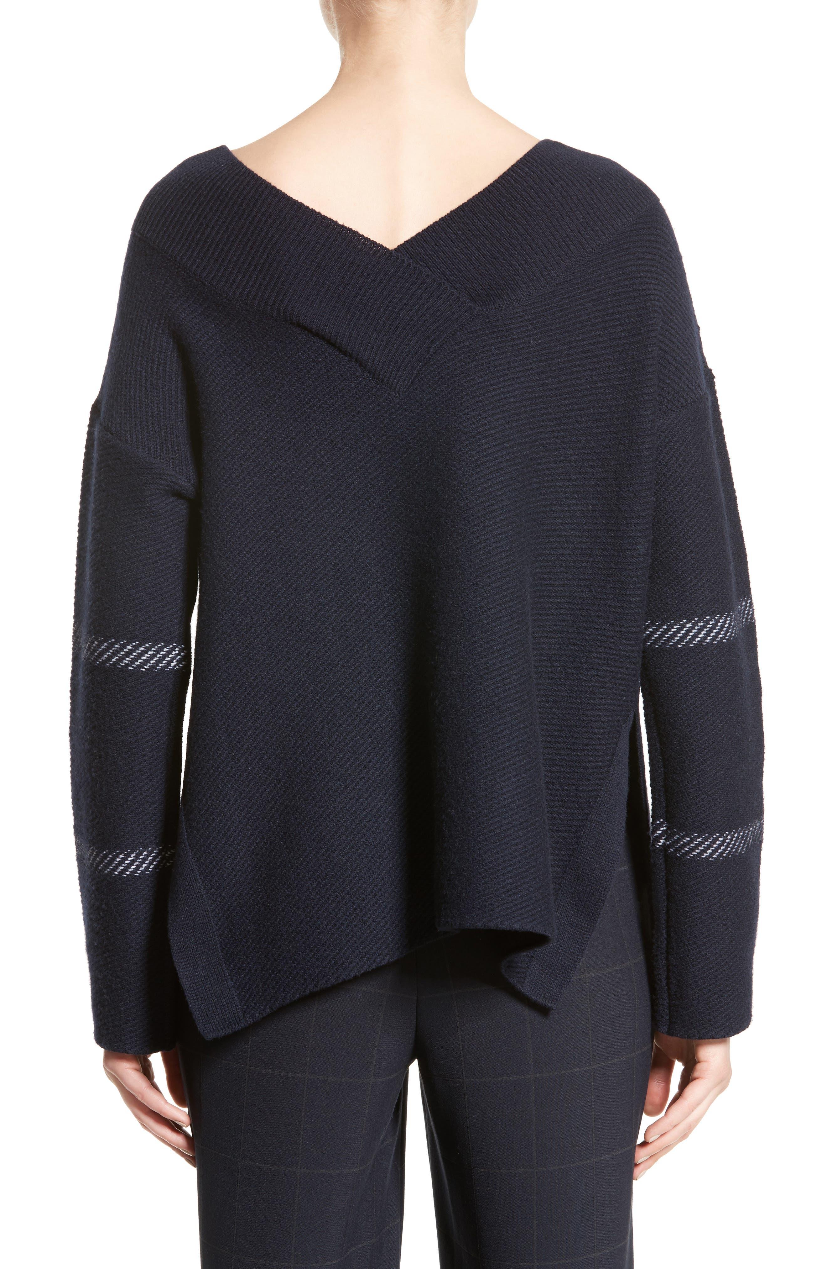 Windowpane Wool & Cashmere Sweater,                             Alternate thumbnail 2, color,                             400