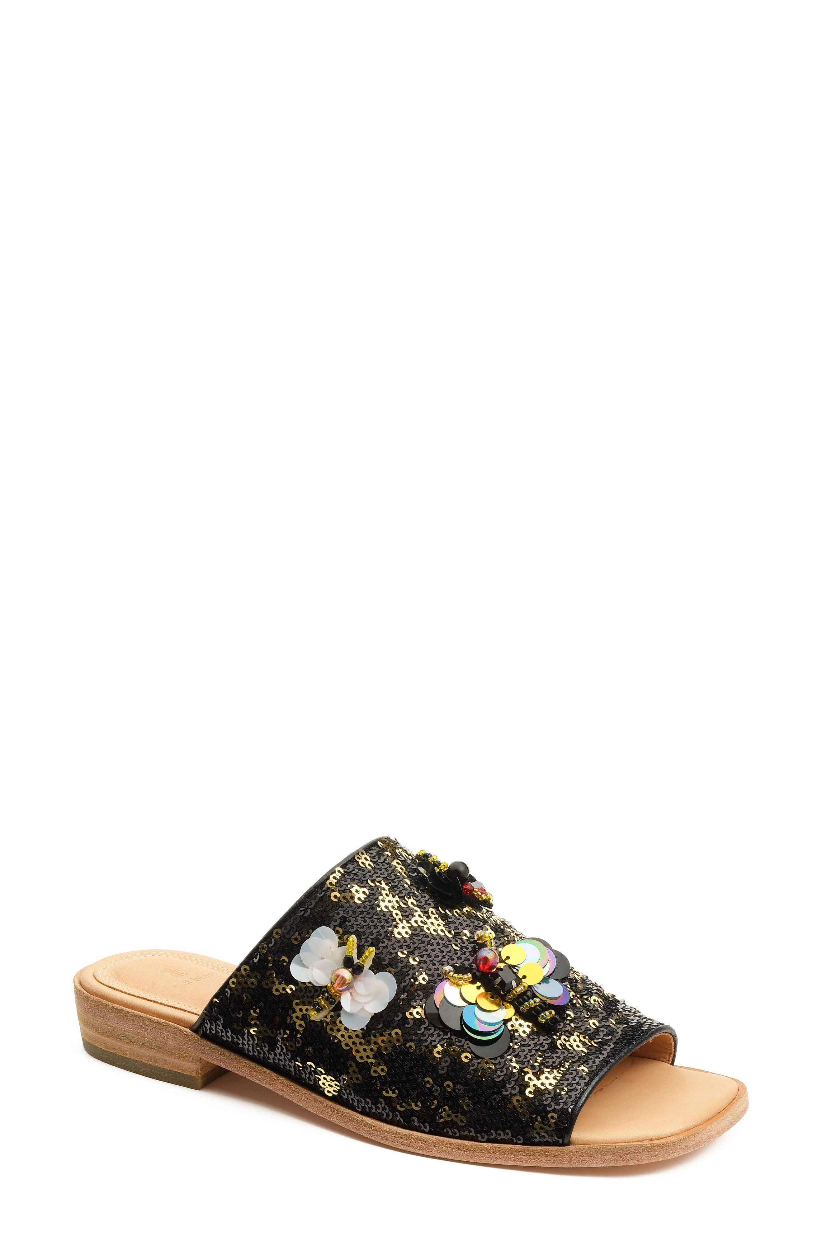 Niki Slide Sandal,                         Main,                         color, 001