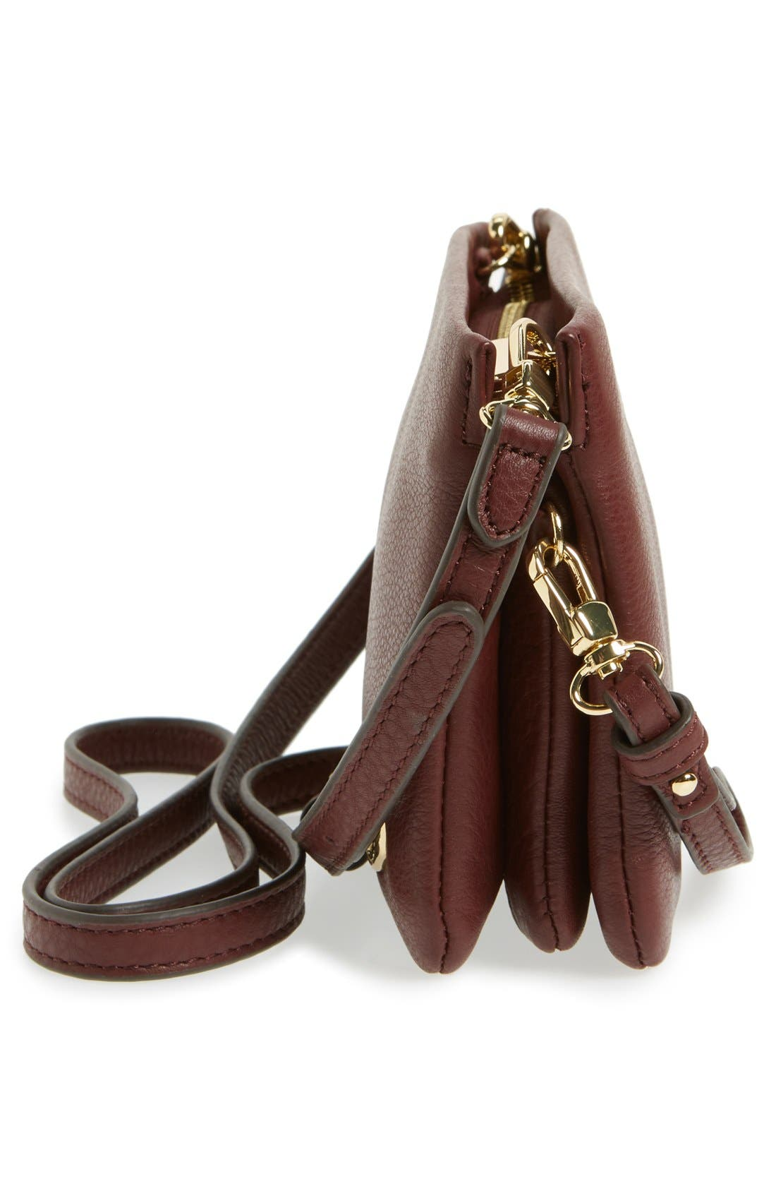 'Cami' Leather Crossbody Bag,                             Alternate thumbnail 156, color,