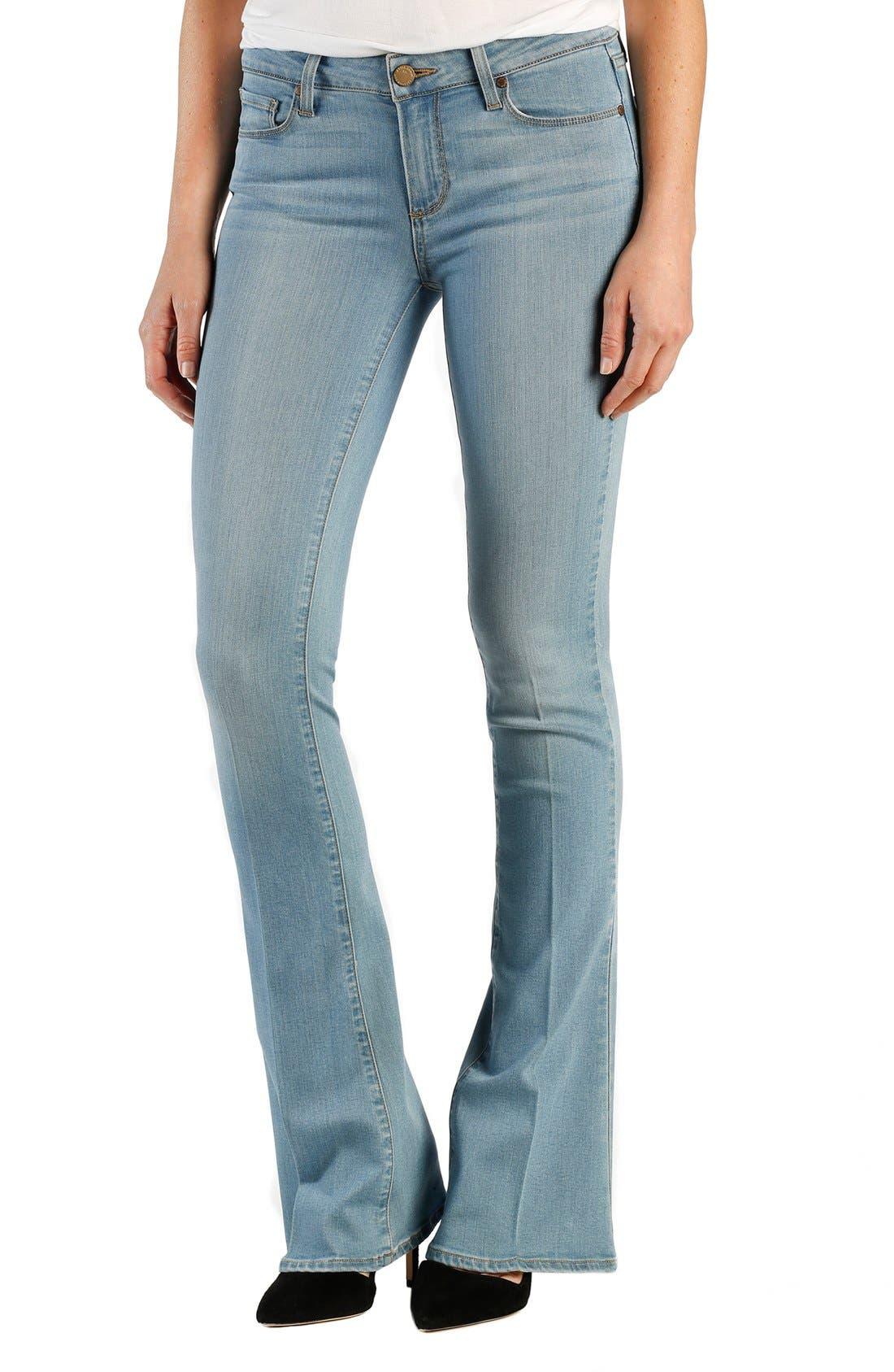 Paige Denim Transcend Lou Lou Flare Jeans Abel Petite