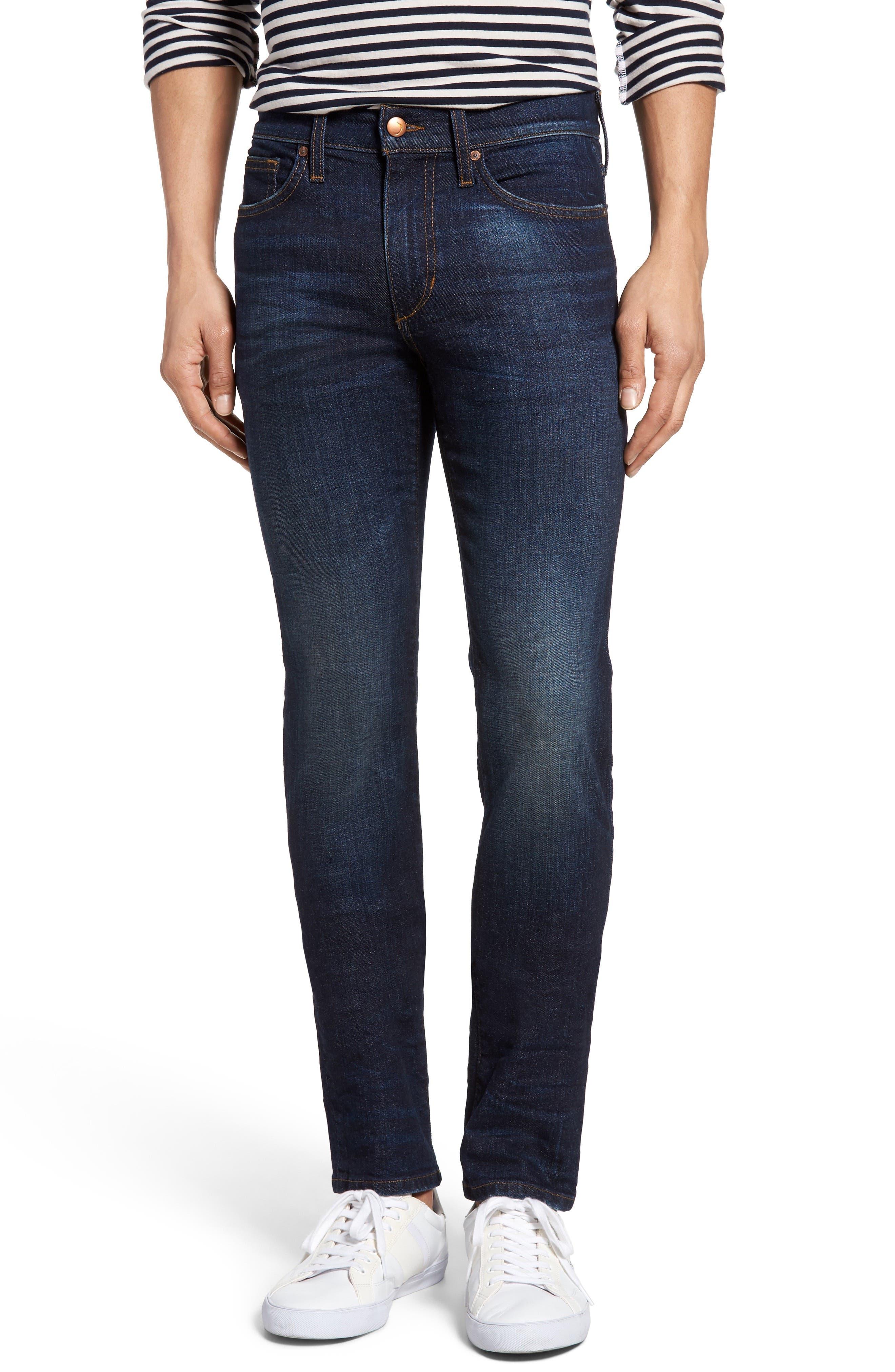 Classic Straight Leg Jeans,                             Main thumbnail 1, color,