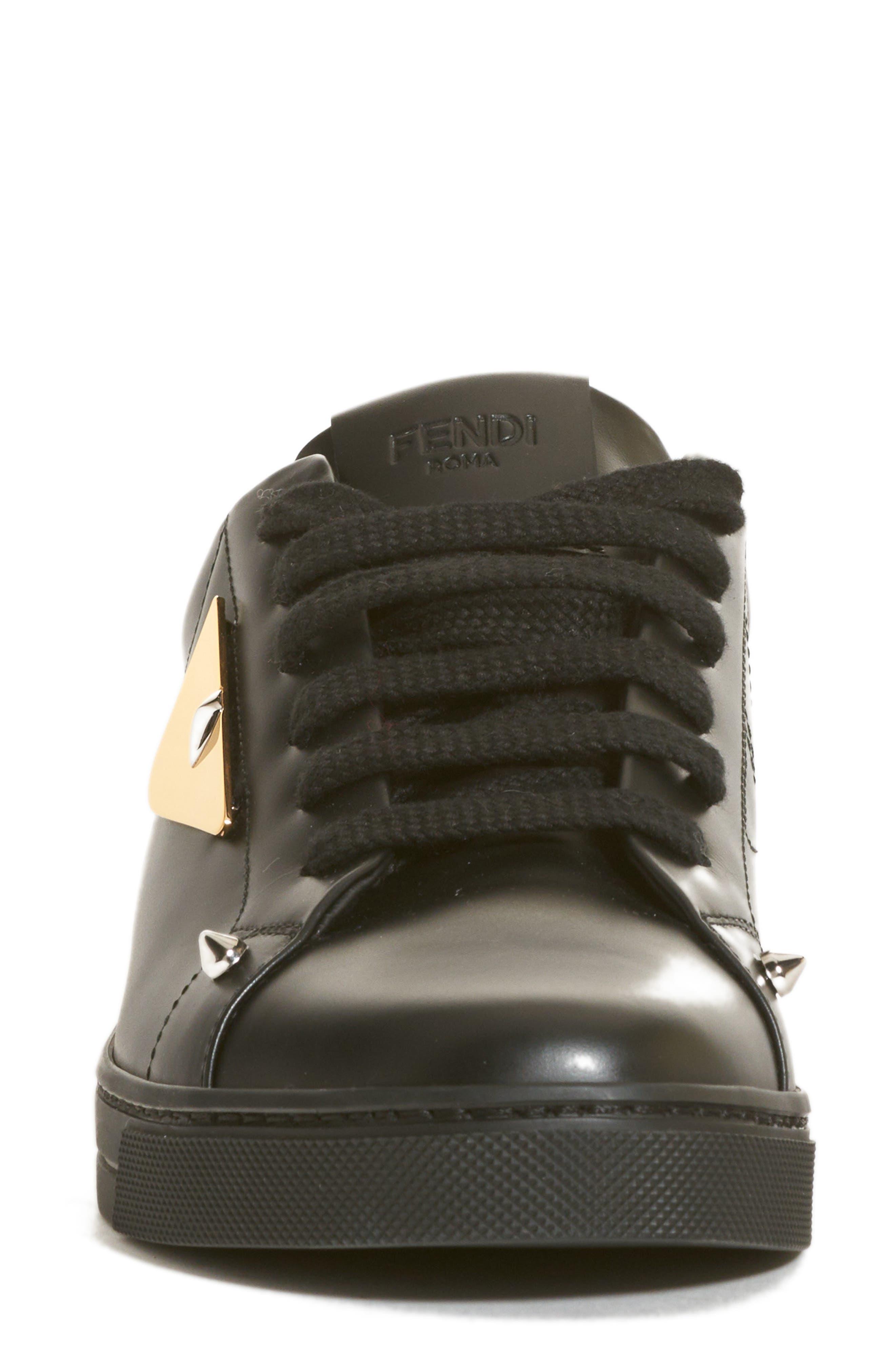 Bugs Sneaker,                             Alternate thumbnail 4, color,                             BLACK