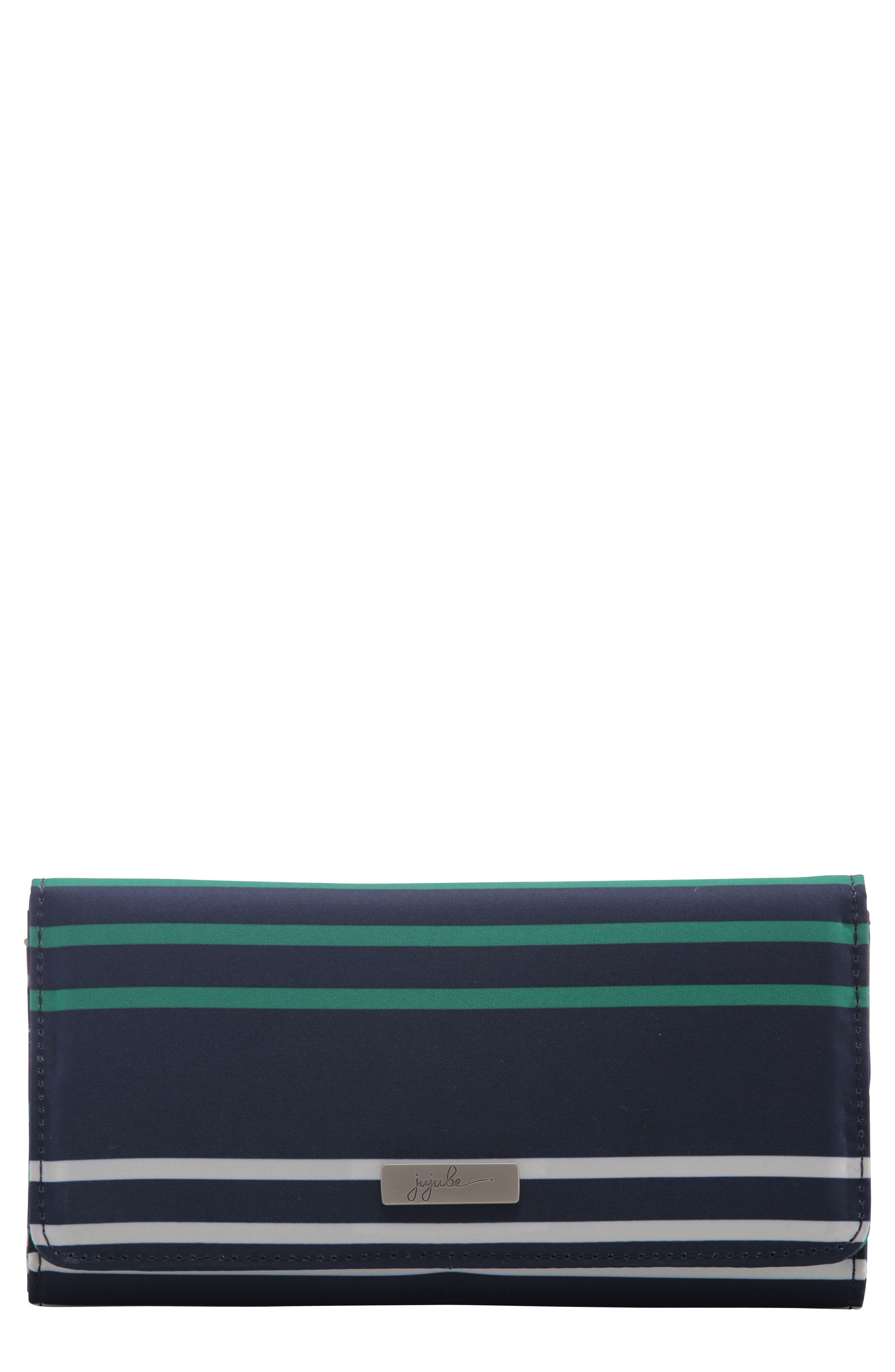 Be Rich - Coastal Collection Trifold Clutch Wallet,                             Main thumbnail 1, color,                             PROVIDENCE