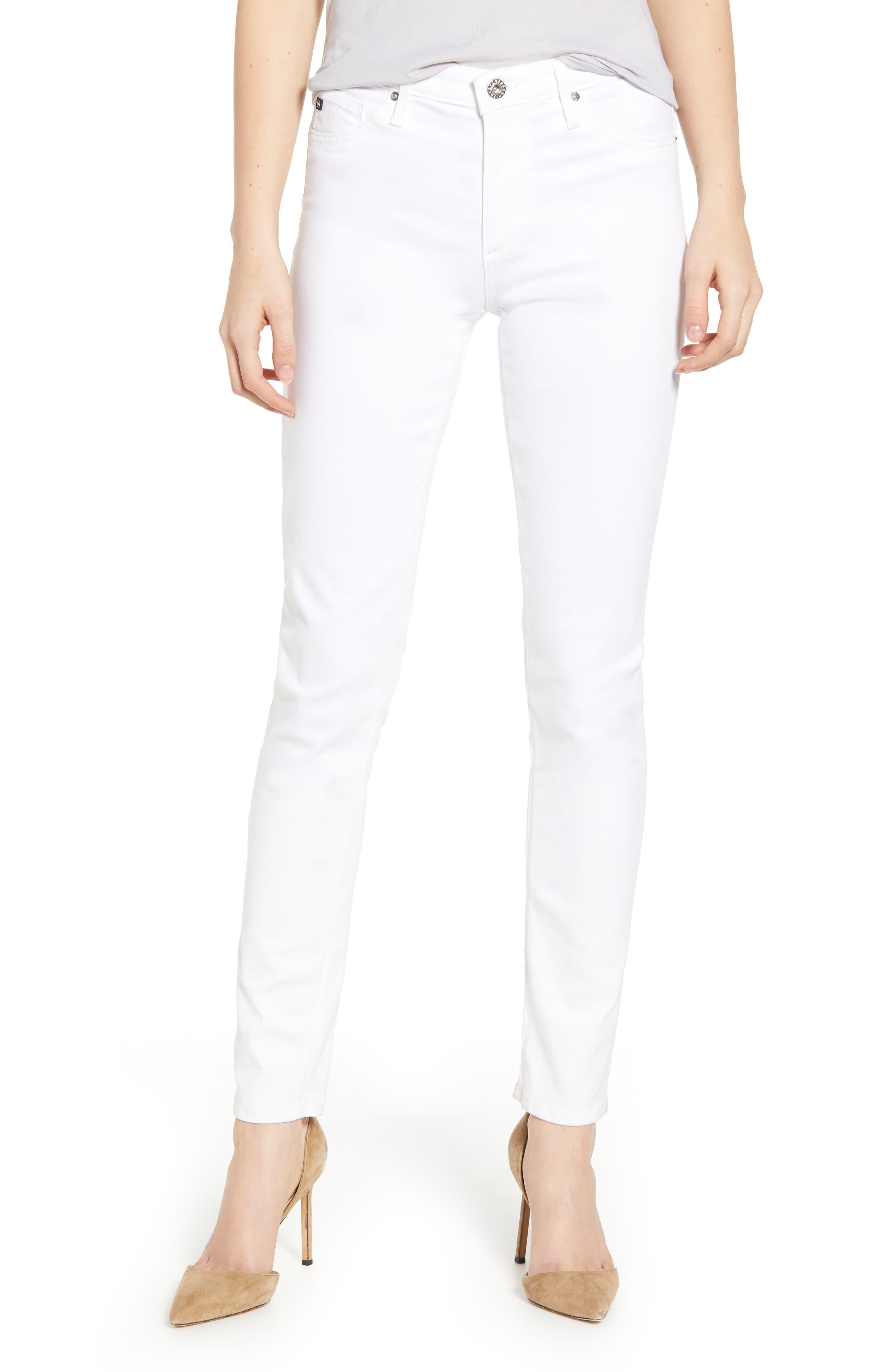 AG 'The Prima' Cigarette Leg Skinny Jeans, Main, color, 110