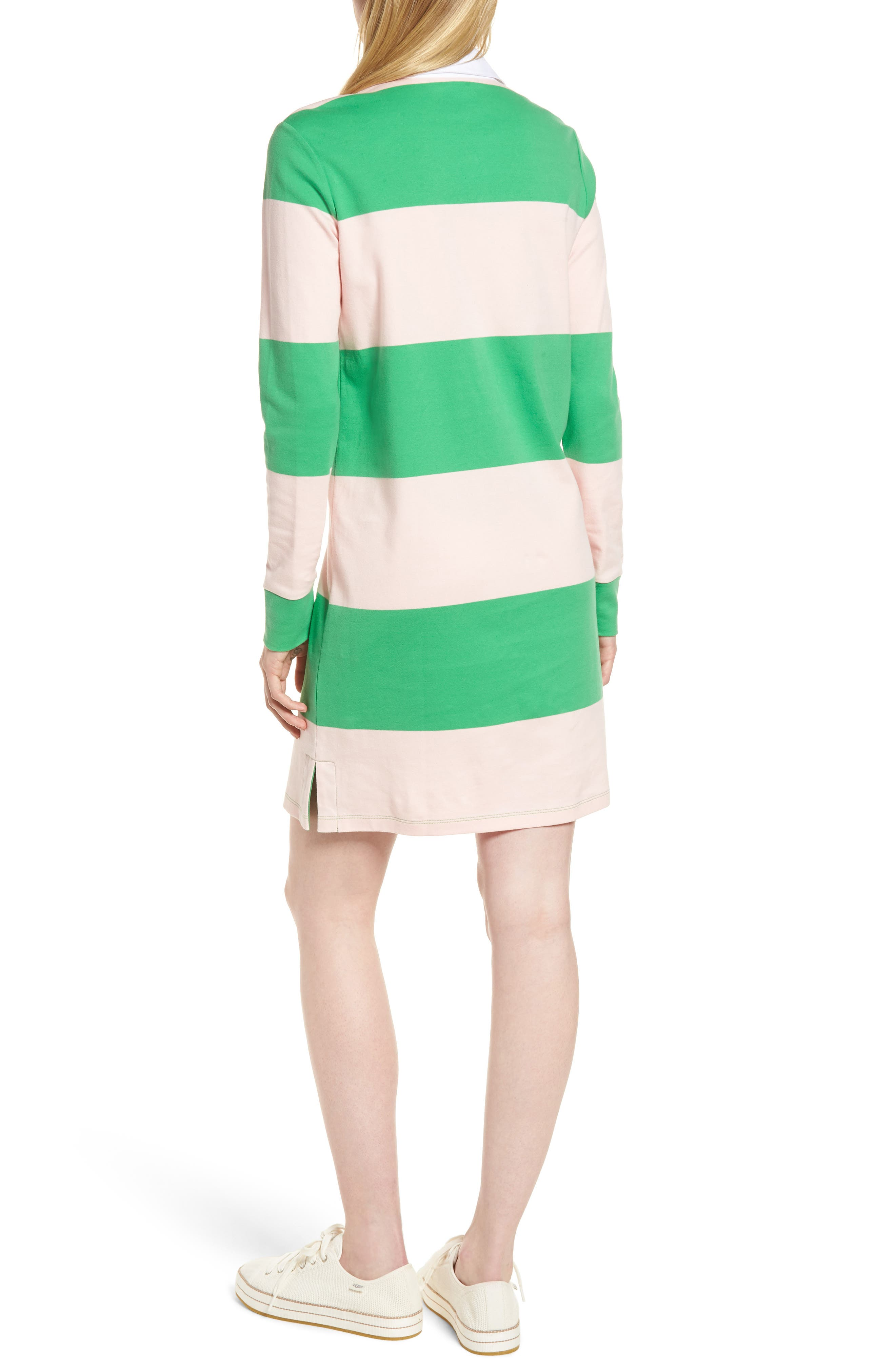 Cotton Rugby Dress,                             Alternate thumbnail 6, color,