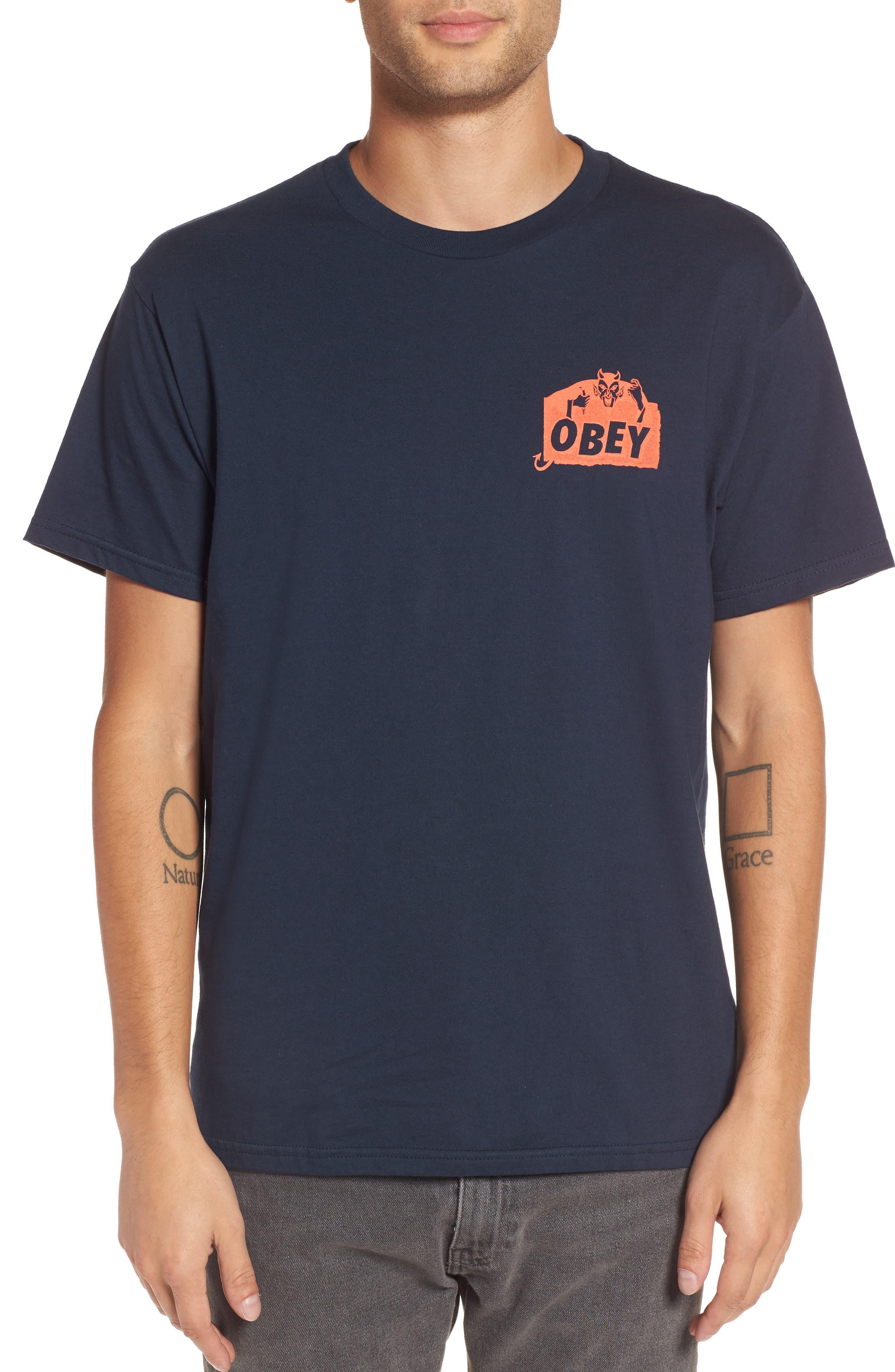 Devil Graphic T-Shirt,                             Main thumbnail 1, color,                             412