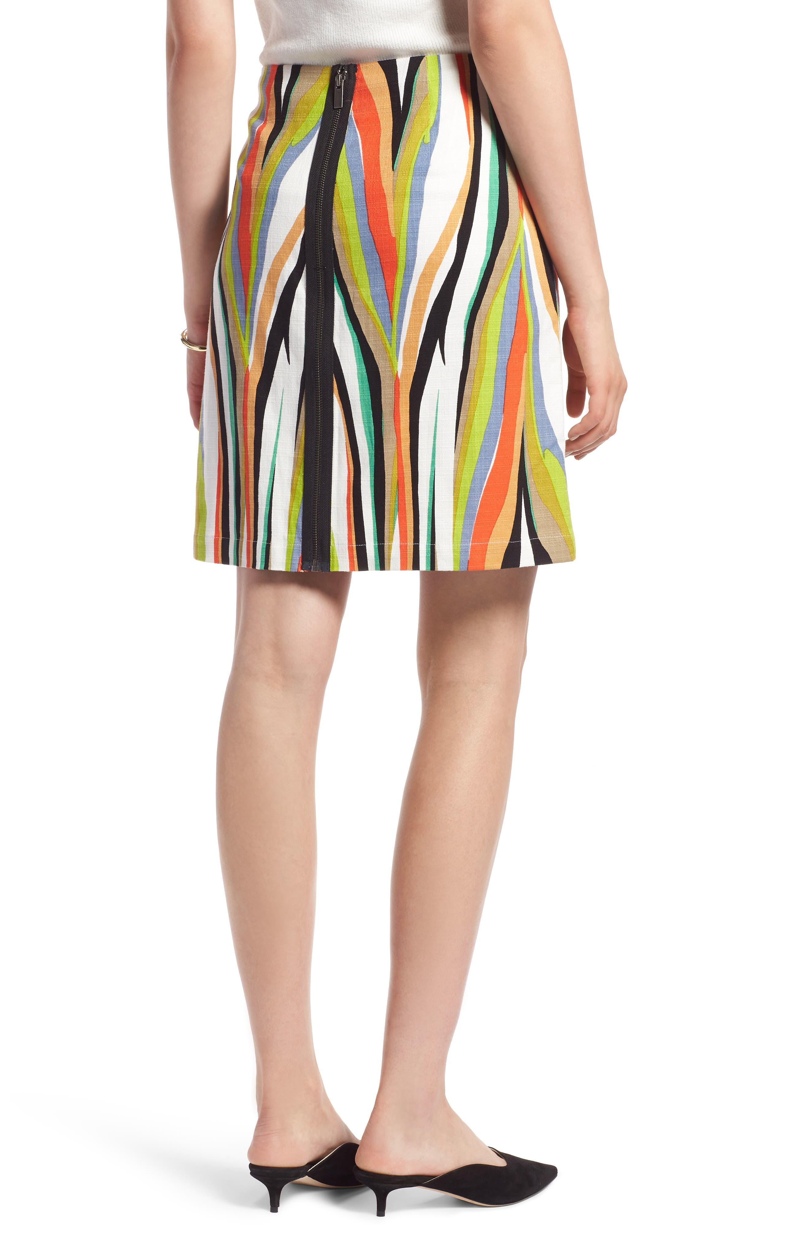 Stripe Skirt,                             Alternate thumbnail 2, color,                             900