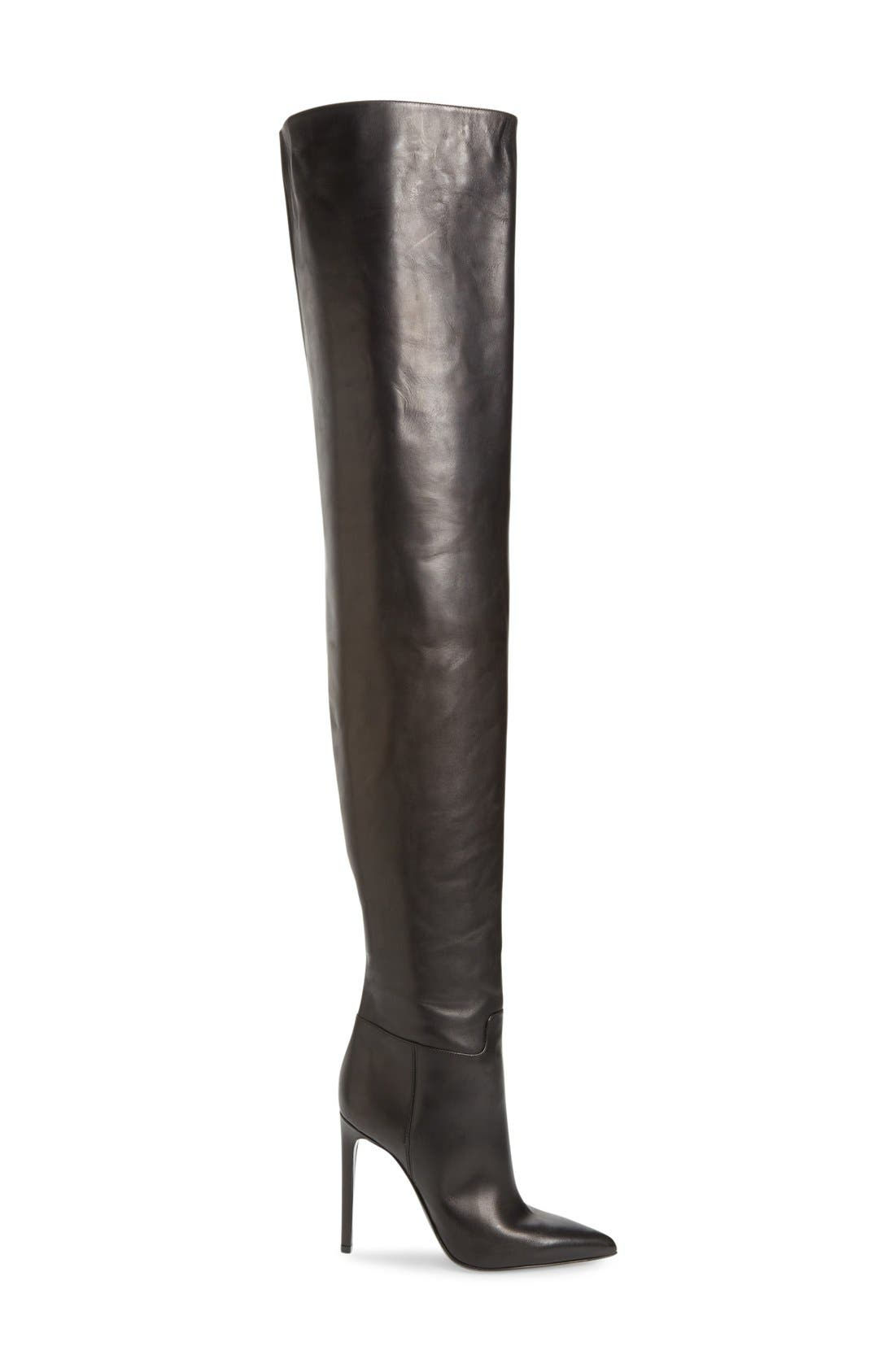 Over the Knee Boot,                             Alternate thumbnail 3, color,                             001