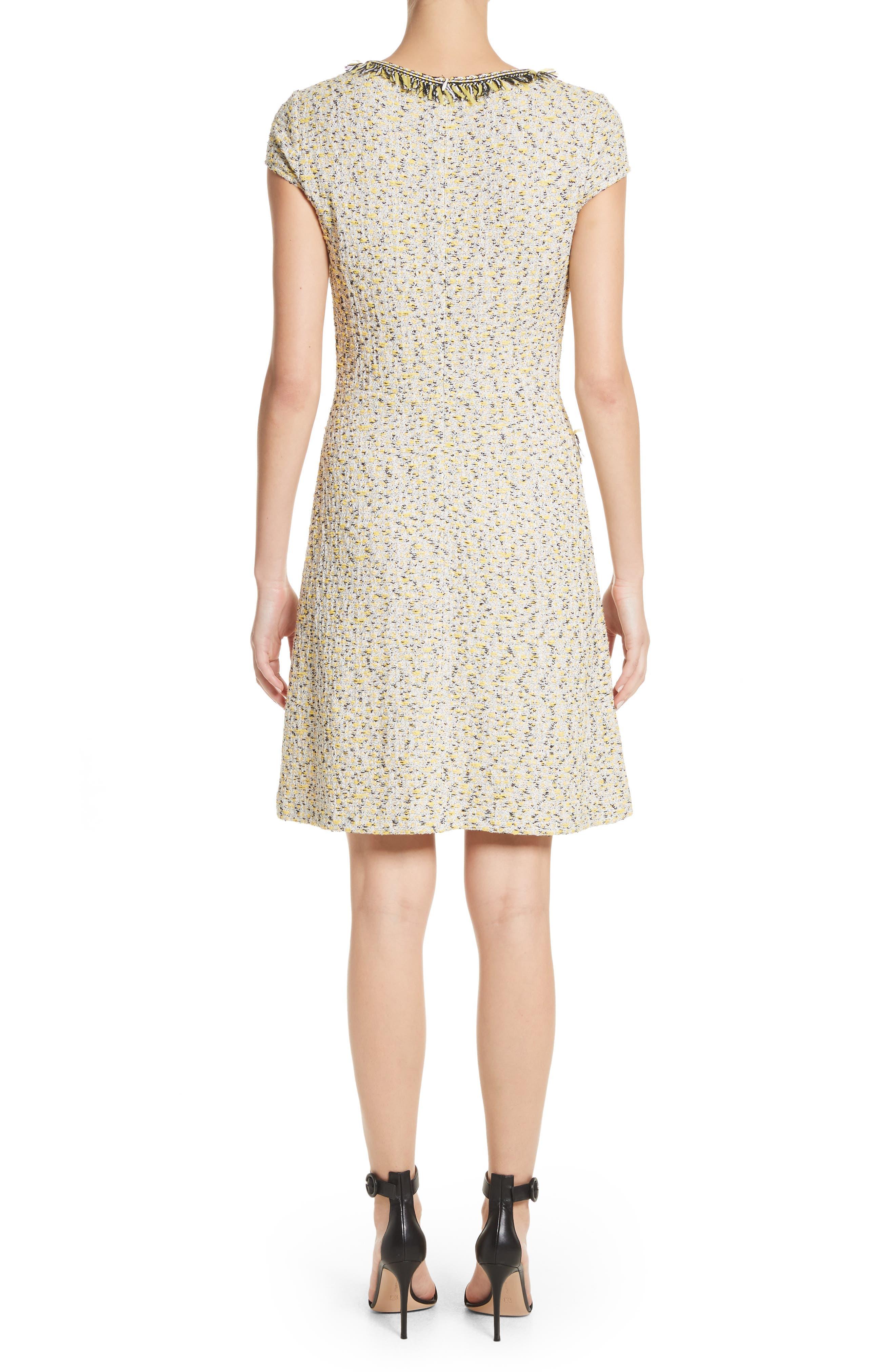 Romee Tweed Dress,                             Alternate thumbnail 2, color,