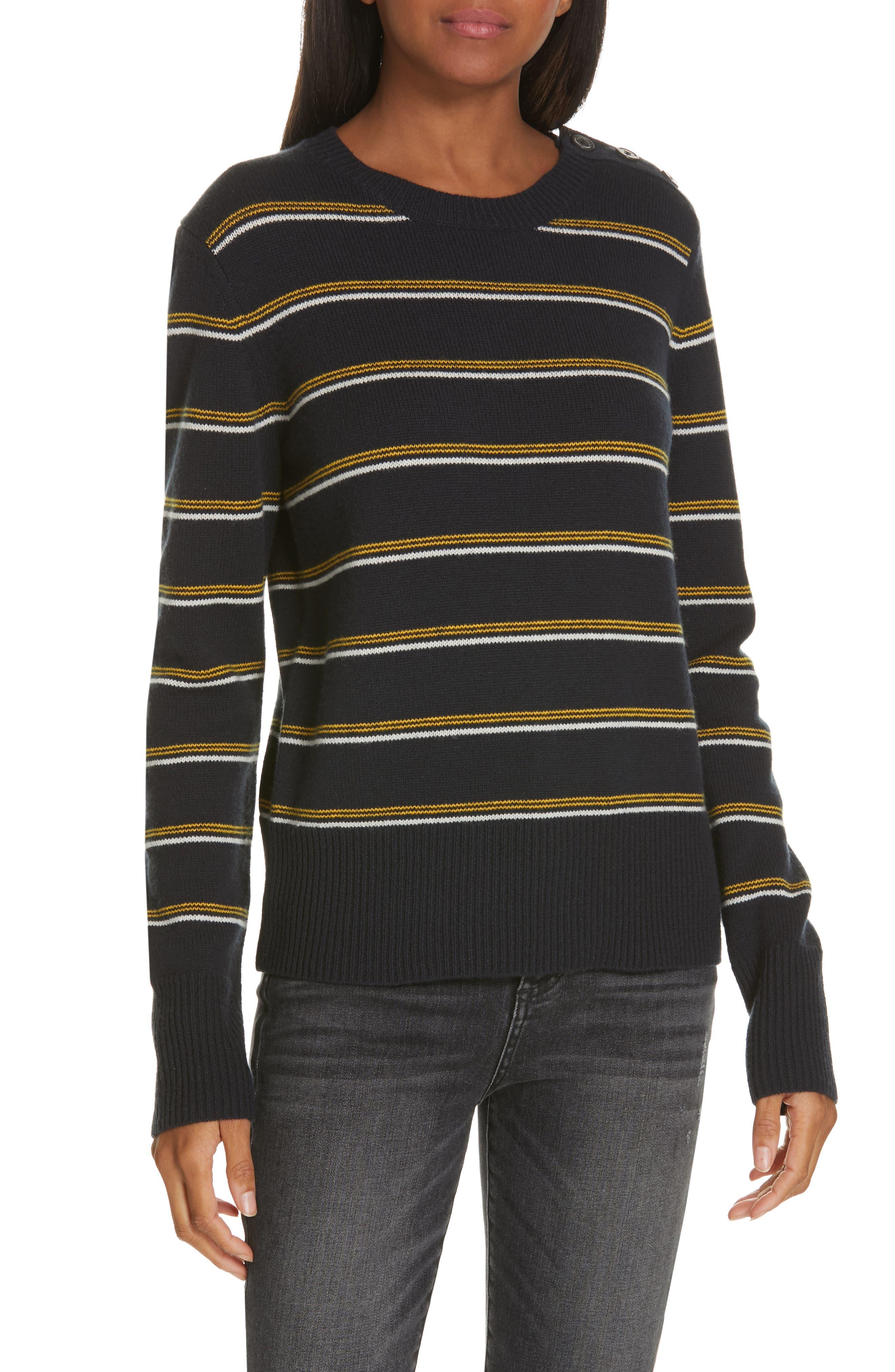 Equipment Duru Wool & Cashmere Sweater, Blue