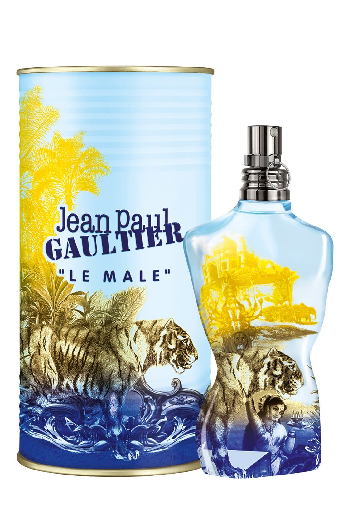 LE MALE,                             Jean Paul Gaultier 'Le Male - Summer Edition' Eau de Toilette,                             Main thumbnail 1, color,                             000