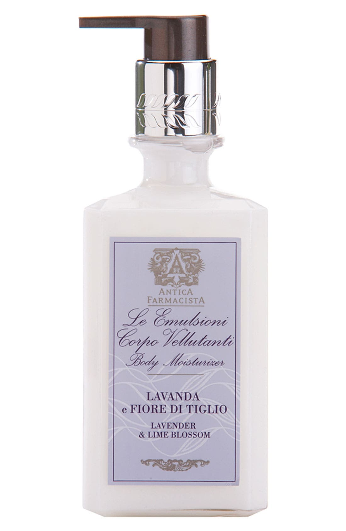ANTICA FARMACISTA,                             'Lavender & Lime Blossom' Body Moisturizer,                             Main thumbnail 1, color,                             NO COLOR