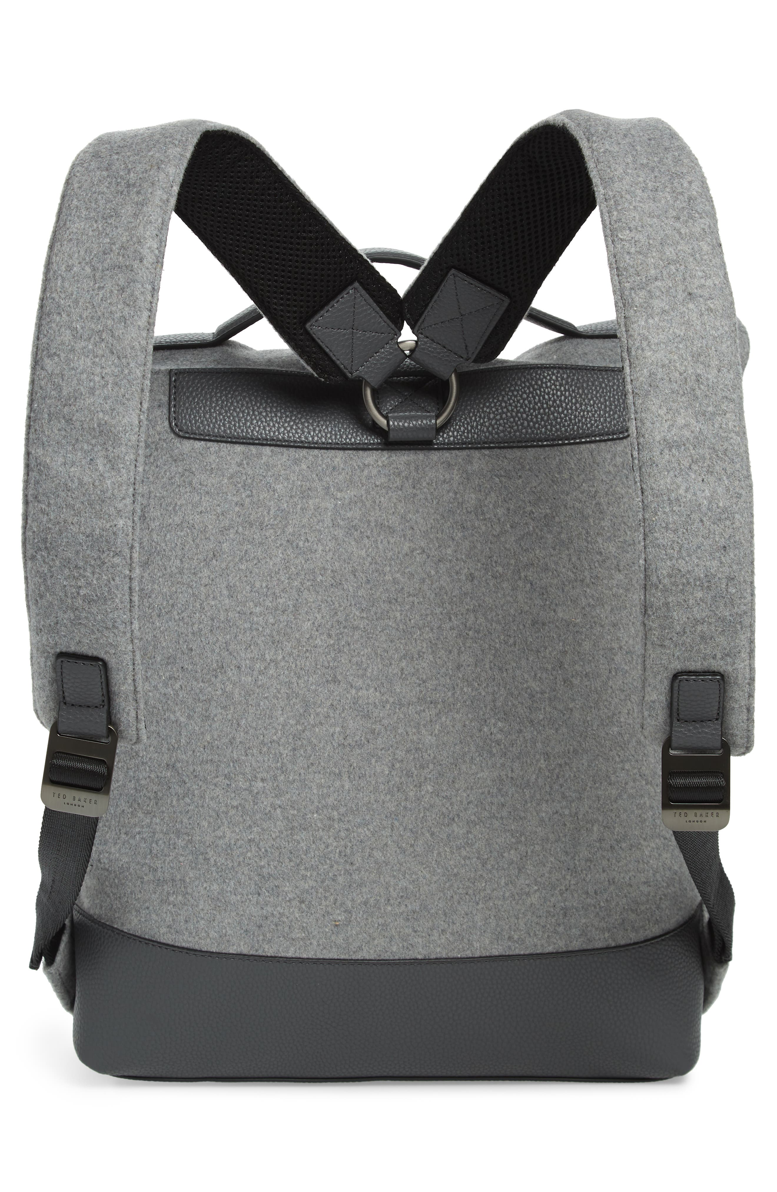 Cashed Backpack,                             Alternate thumbnail 3, color,                             GREY