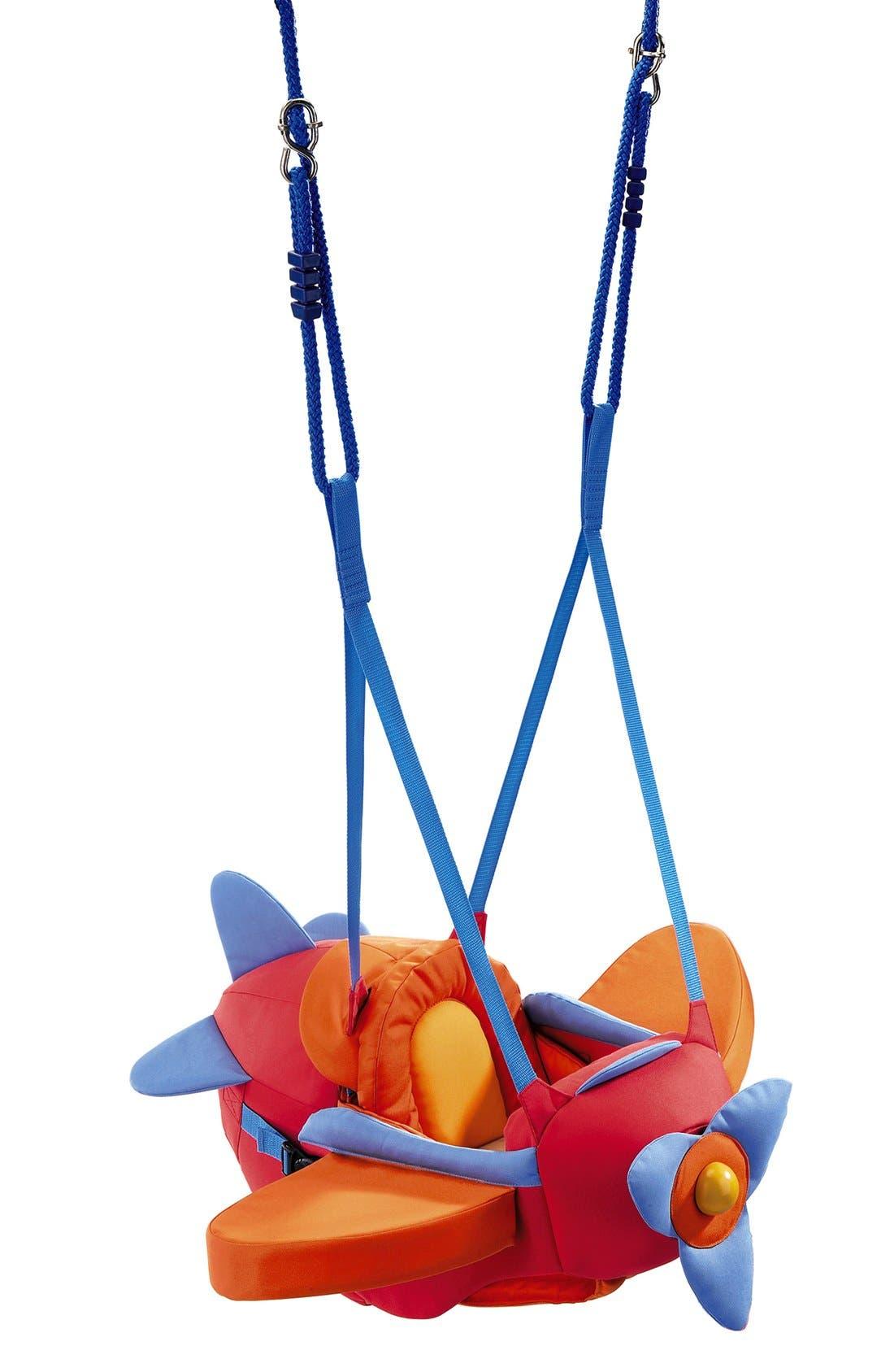 HABA Aircraft Baby Swing, Main, color, 600