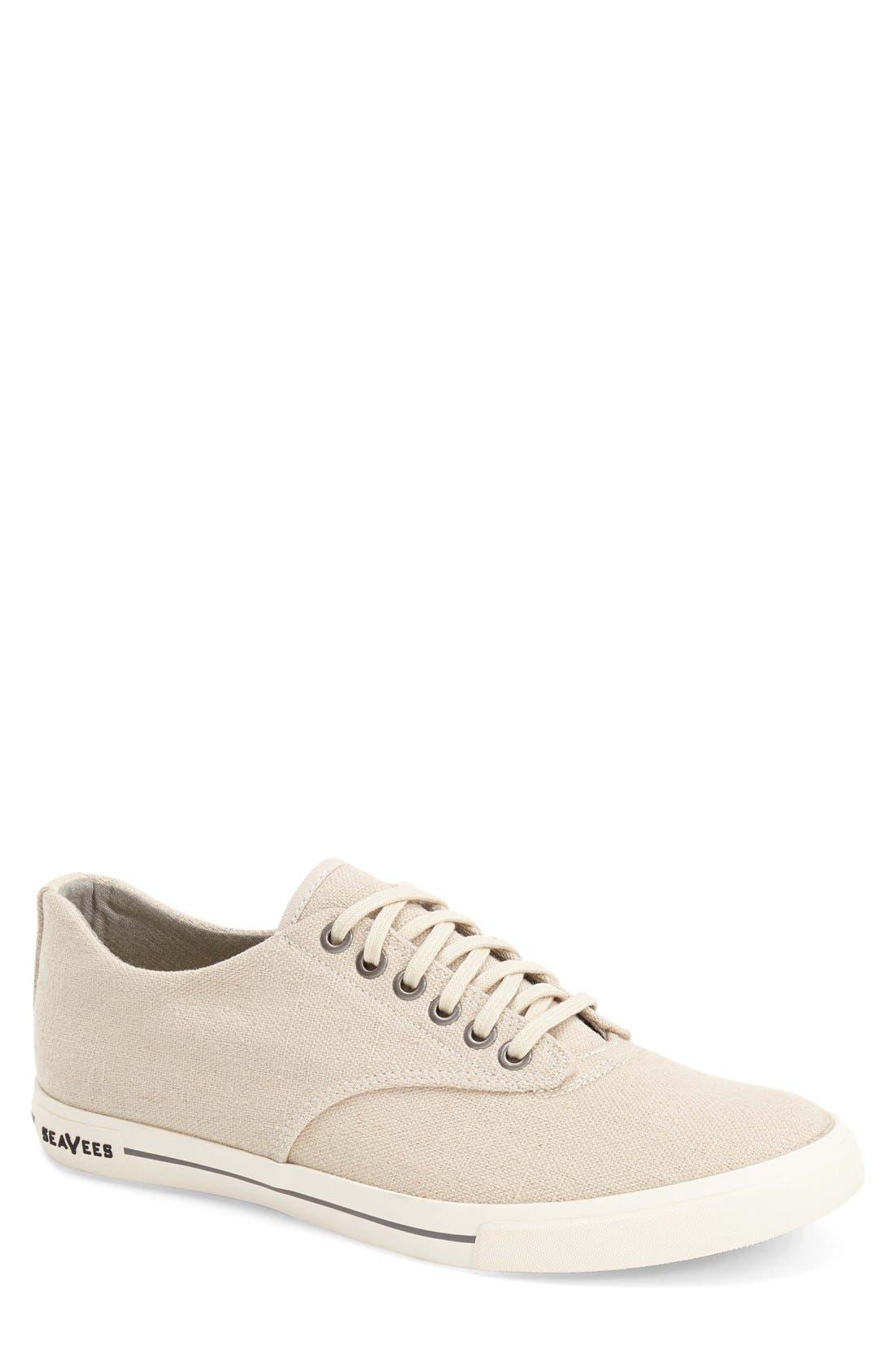 'Hermosa Plimsoll' Sneaker, Main, color, NATURAL