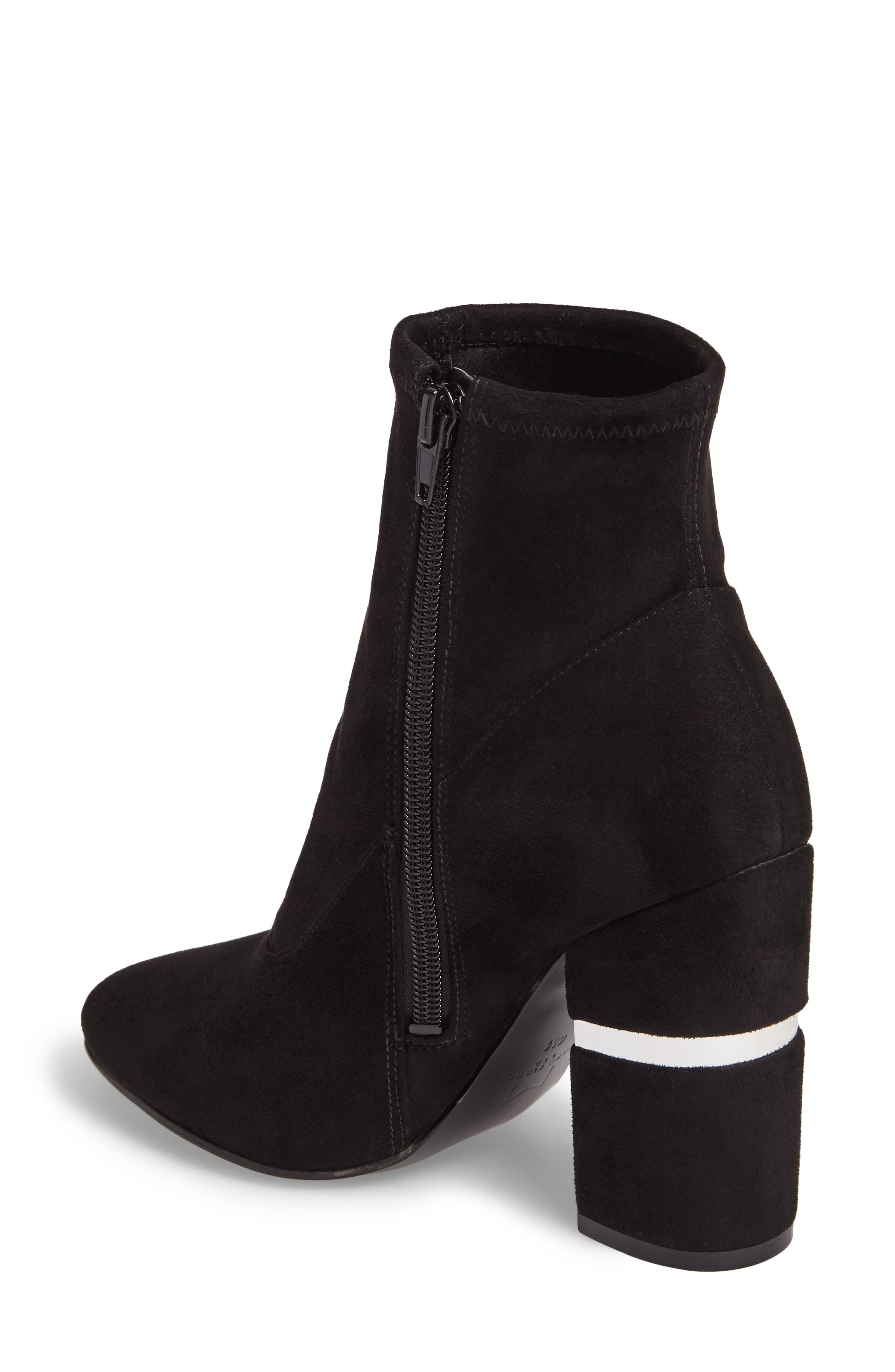 Padda Embellished Stretch Bootie,                             Alternate thumbnail 2, color,                             001