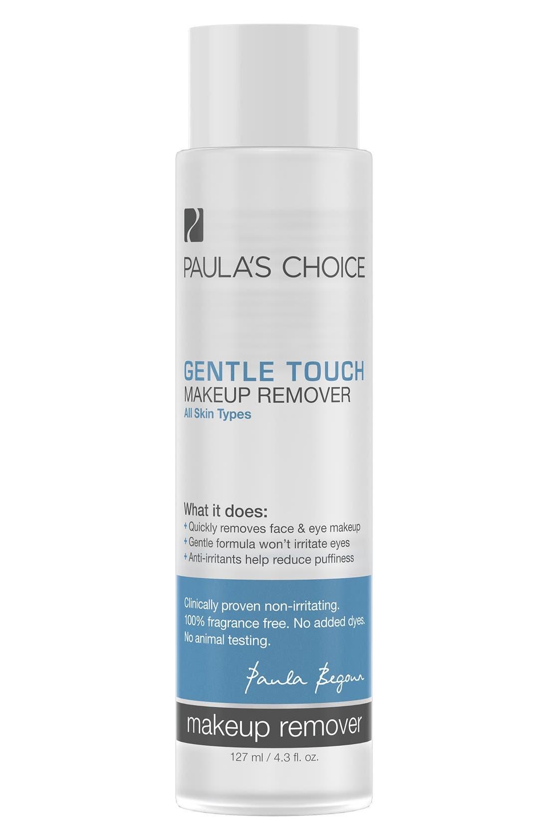 Gentle Touch Makeup Remover,                             Main thumbnail 1, color,                             NO COLOR