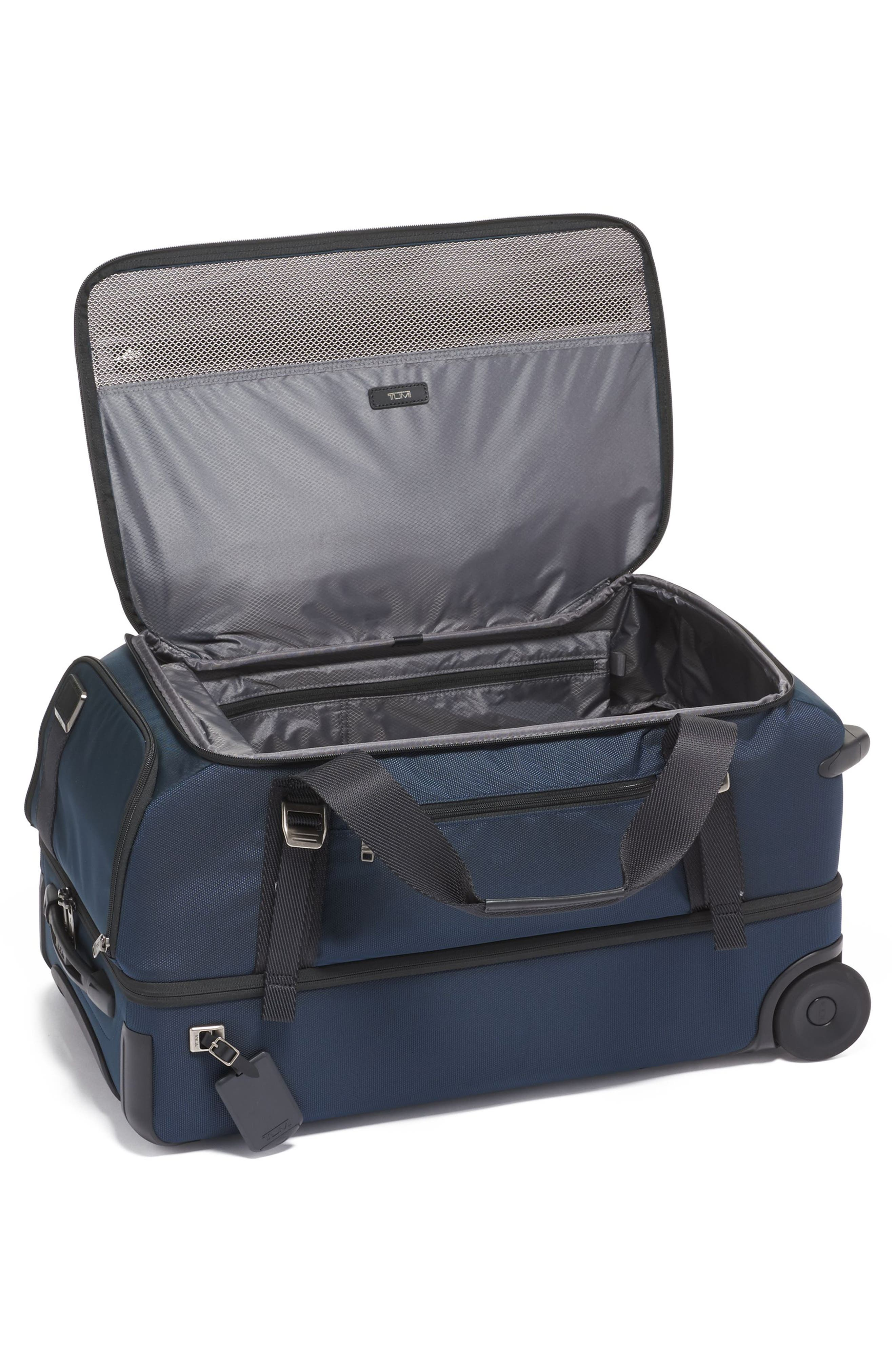 Merge Wheeled Duffel Packing Case,                             Alternate thumbnail 4, color,                             NAVY