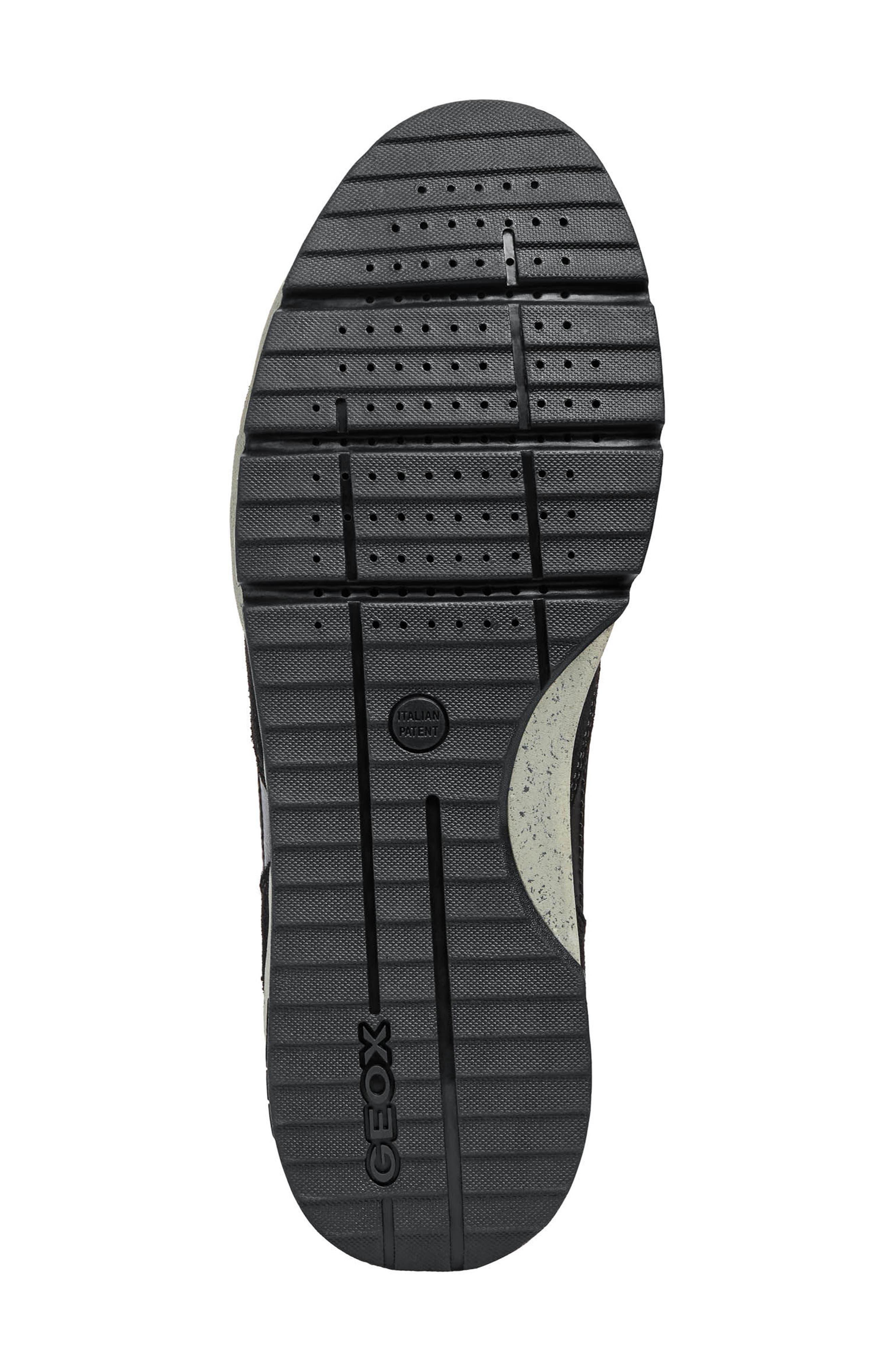 Sandro ABX Ambphibiox Waterproof Sneaker,                             Alternate thumbnail 6, color,                             007
