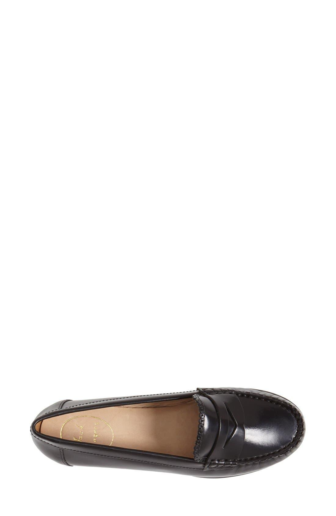 'Quinn' Leather Loafer,                             Alternate thumbnail 13, color,