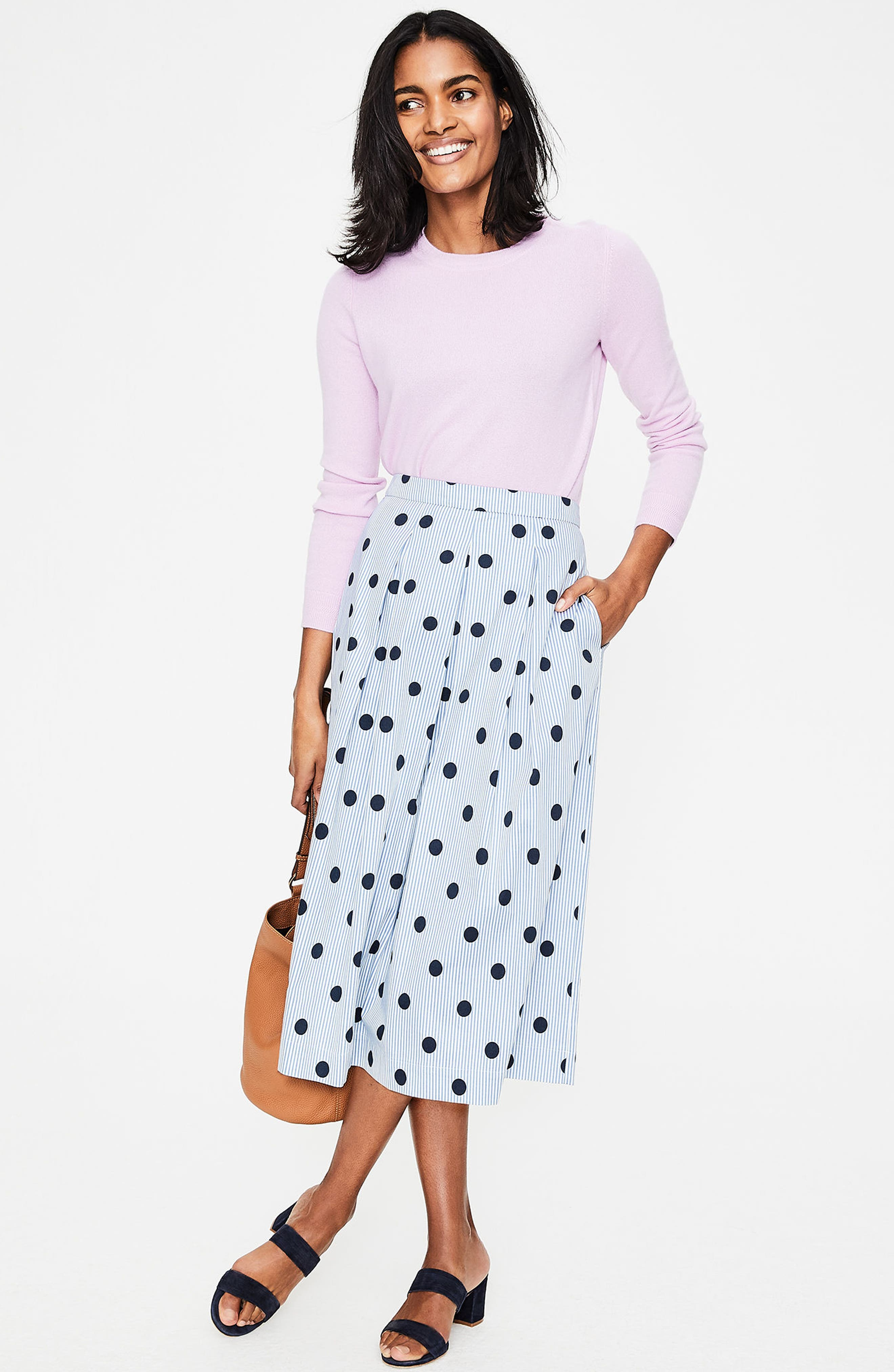 Lola Floral Flared Skirt,                             Alternate thumbnail 20, color,