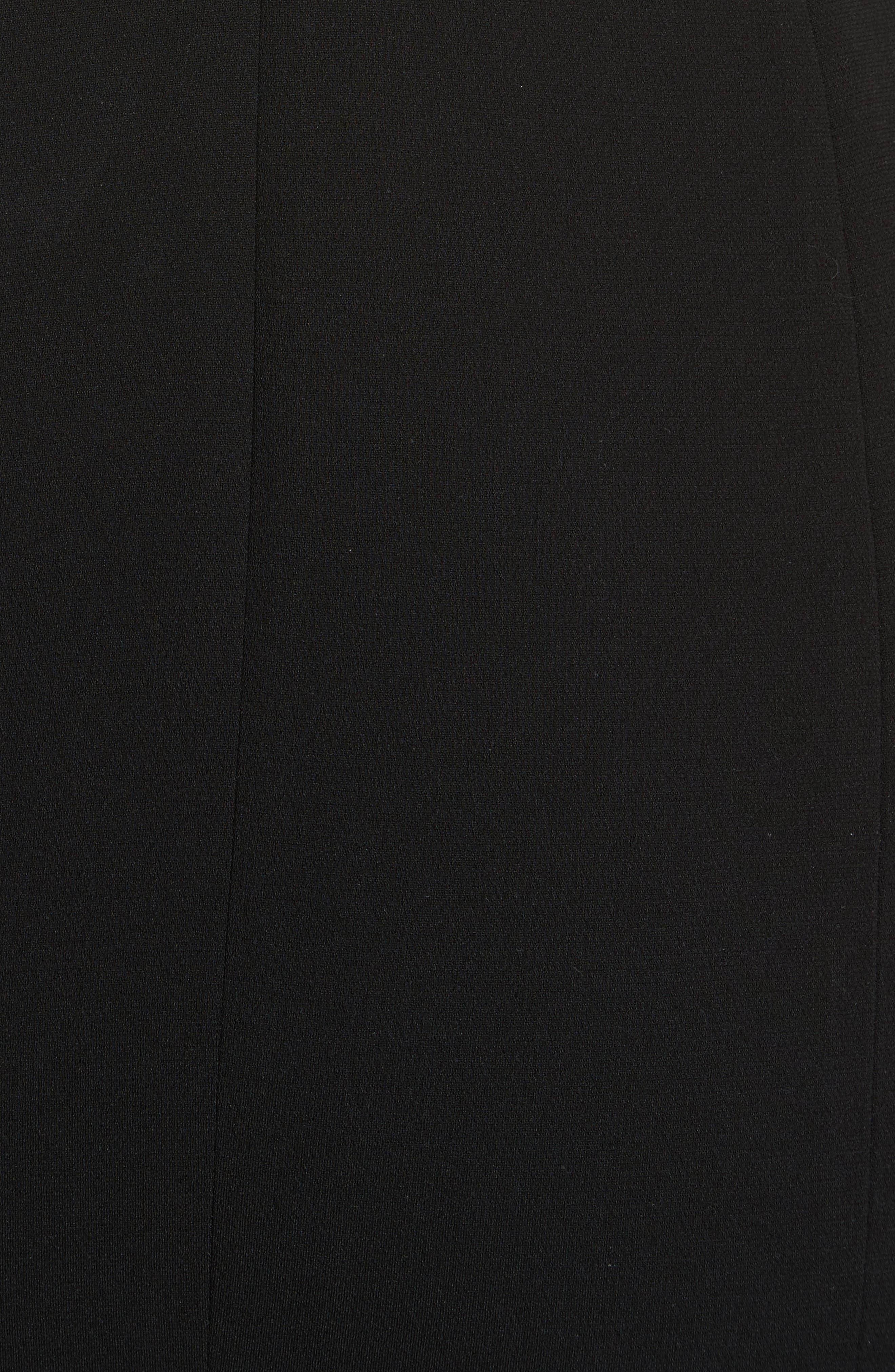 One-Shoulder Gown,                             Alternate thumbnail 5, color,                             001