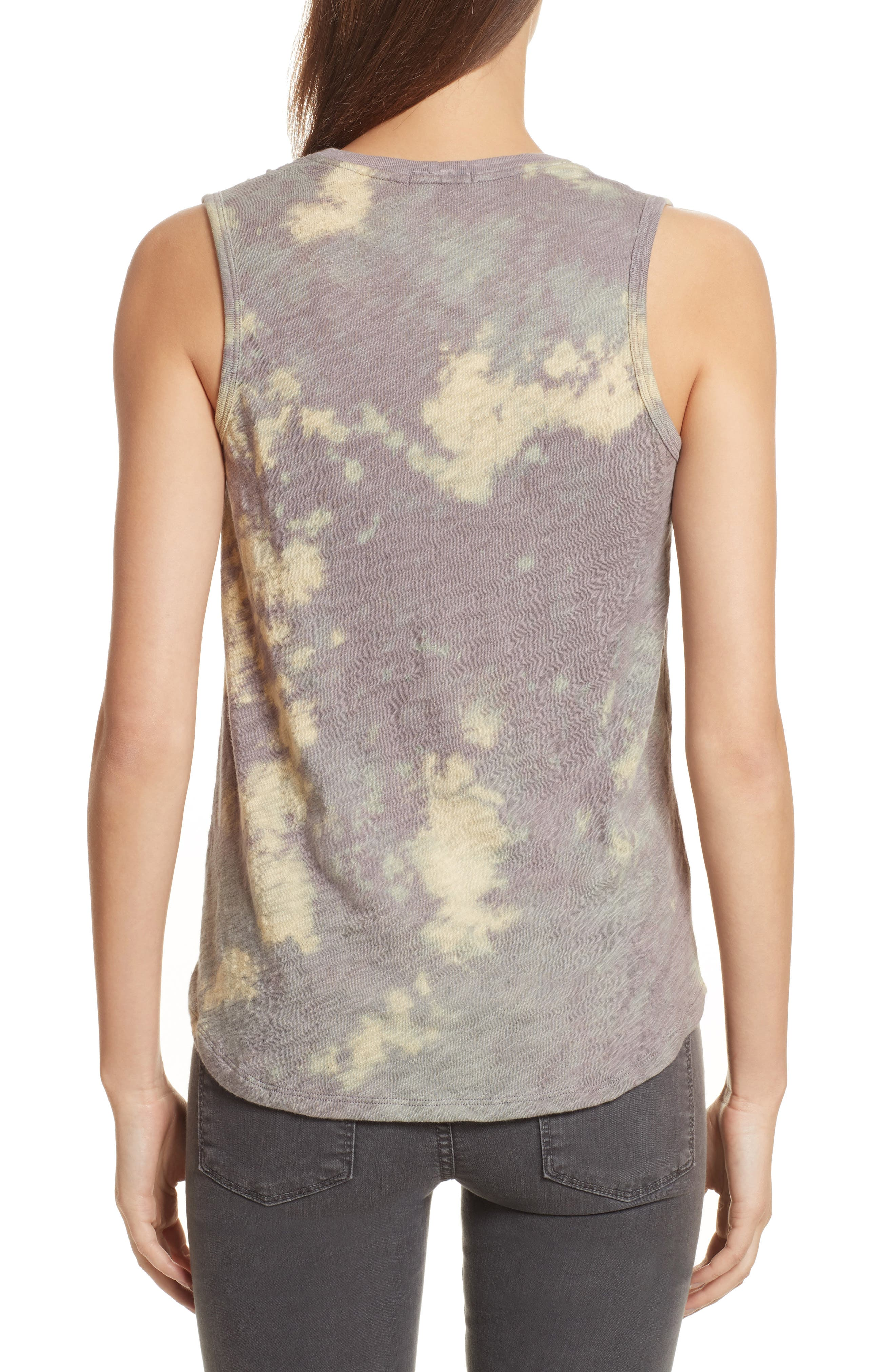 Sweetheart Tie Dye Tank,                             Alternate thumbnail 2, color,