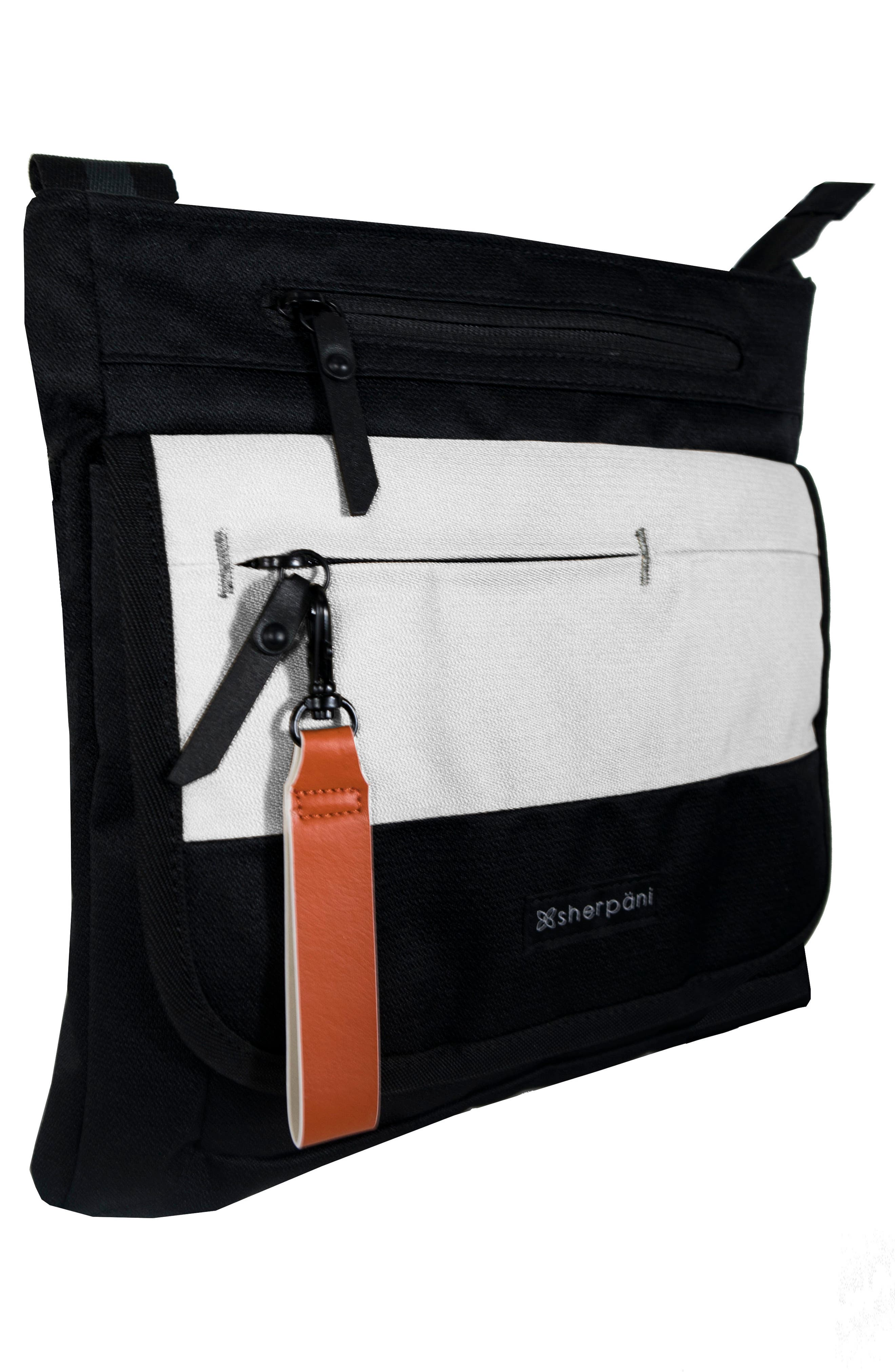 Jag FRFID Crossbody Bag,                             Alternate thumbnail 5, color,                             100