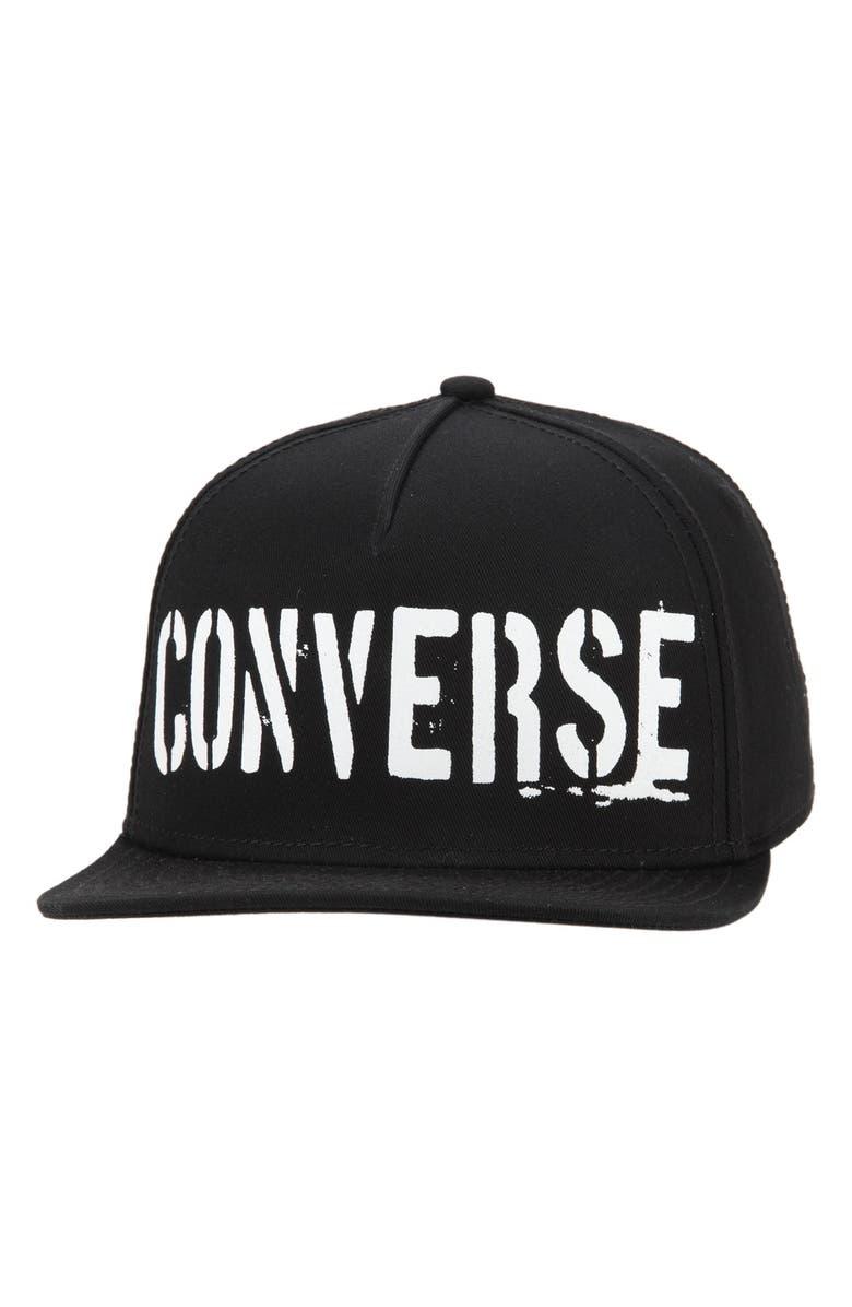 Converse  Stencil Logo  Snapback Cap  26dc37a128a