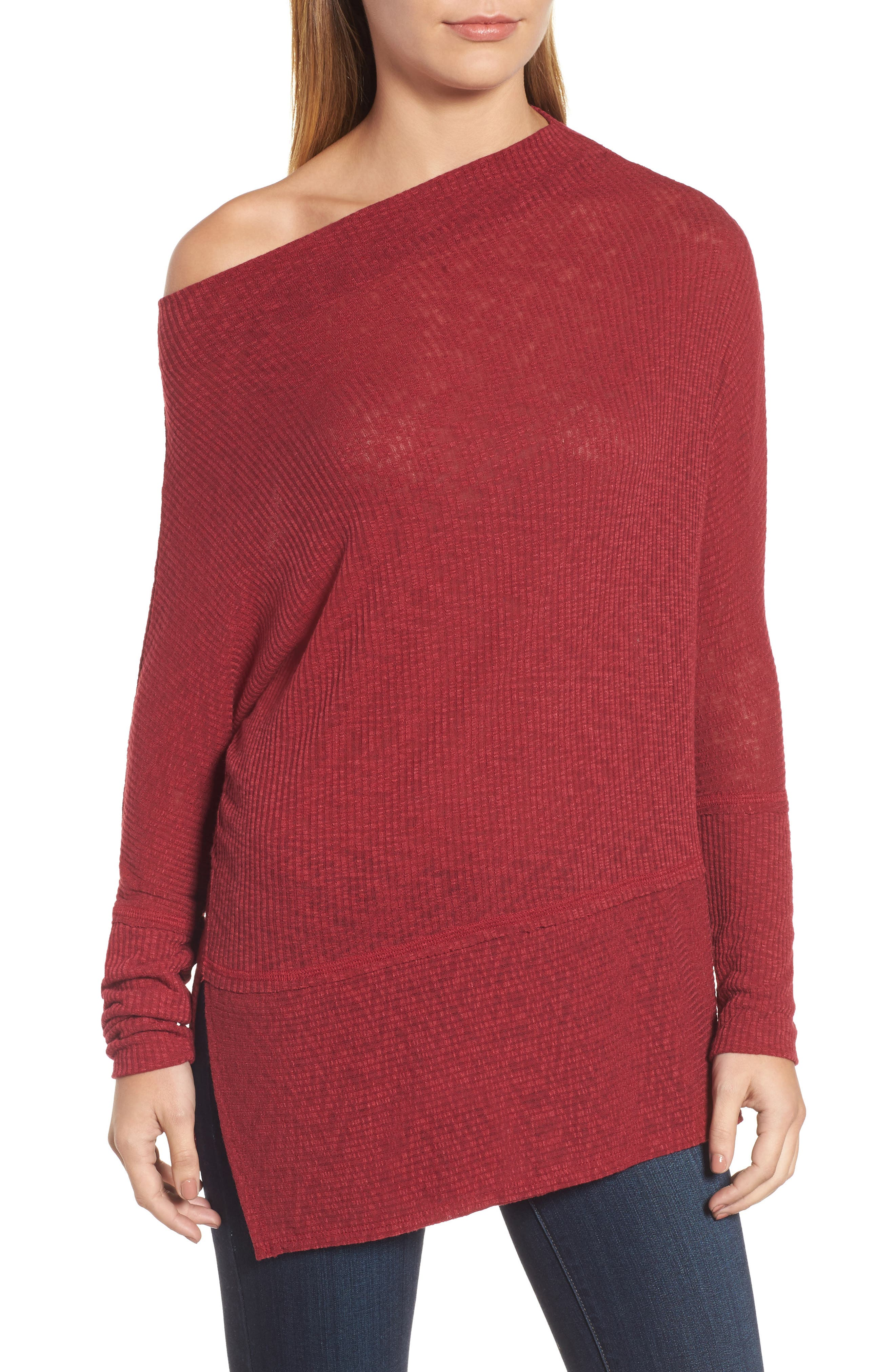 Convertible Wide Neck Top,                             Alternate thumbnail 20, color,