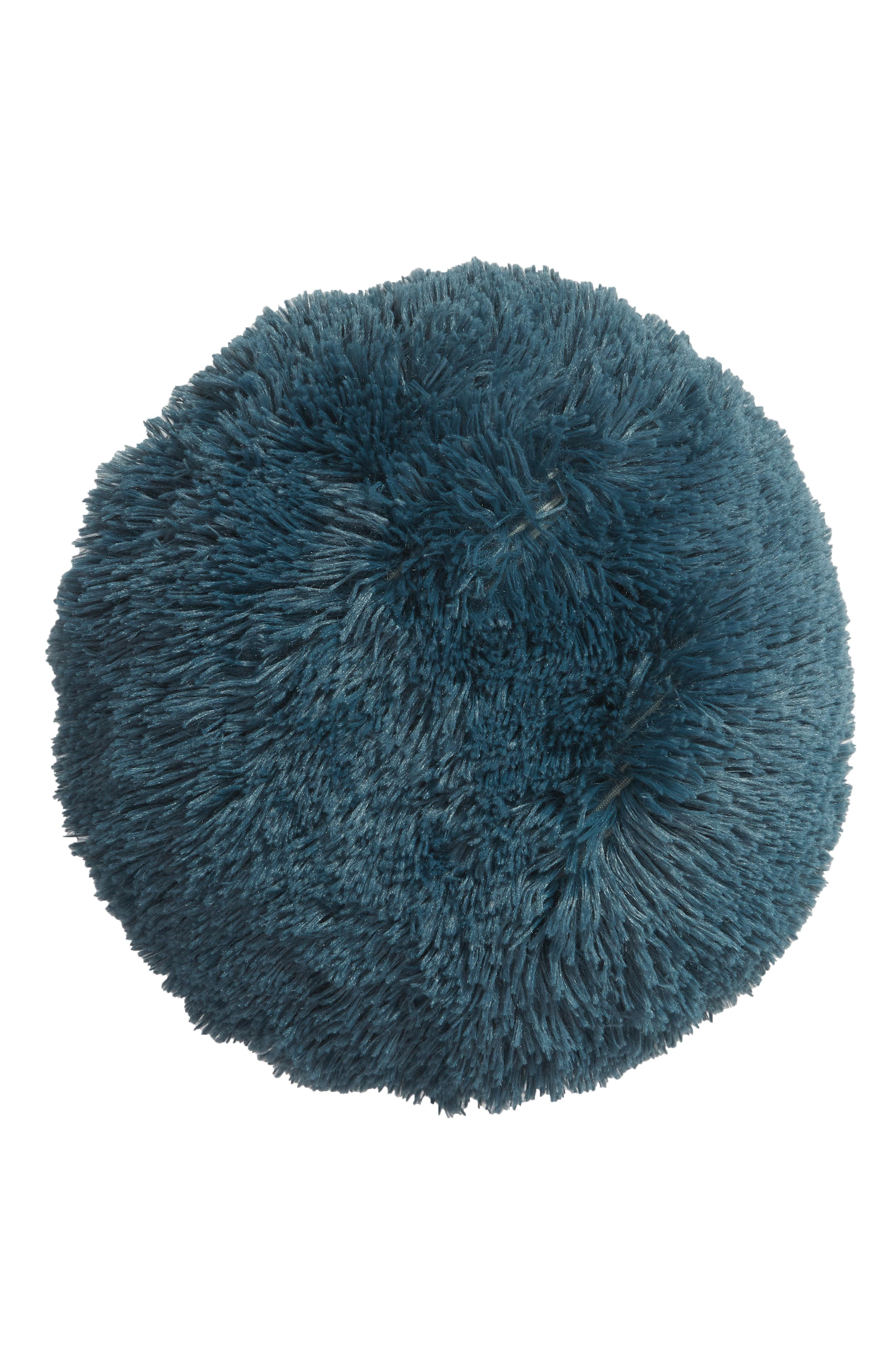 Feather Faux Fur Pillow,                             Main thumbnail 3, color,