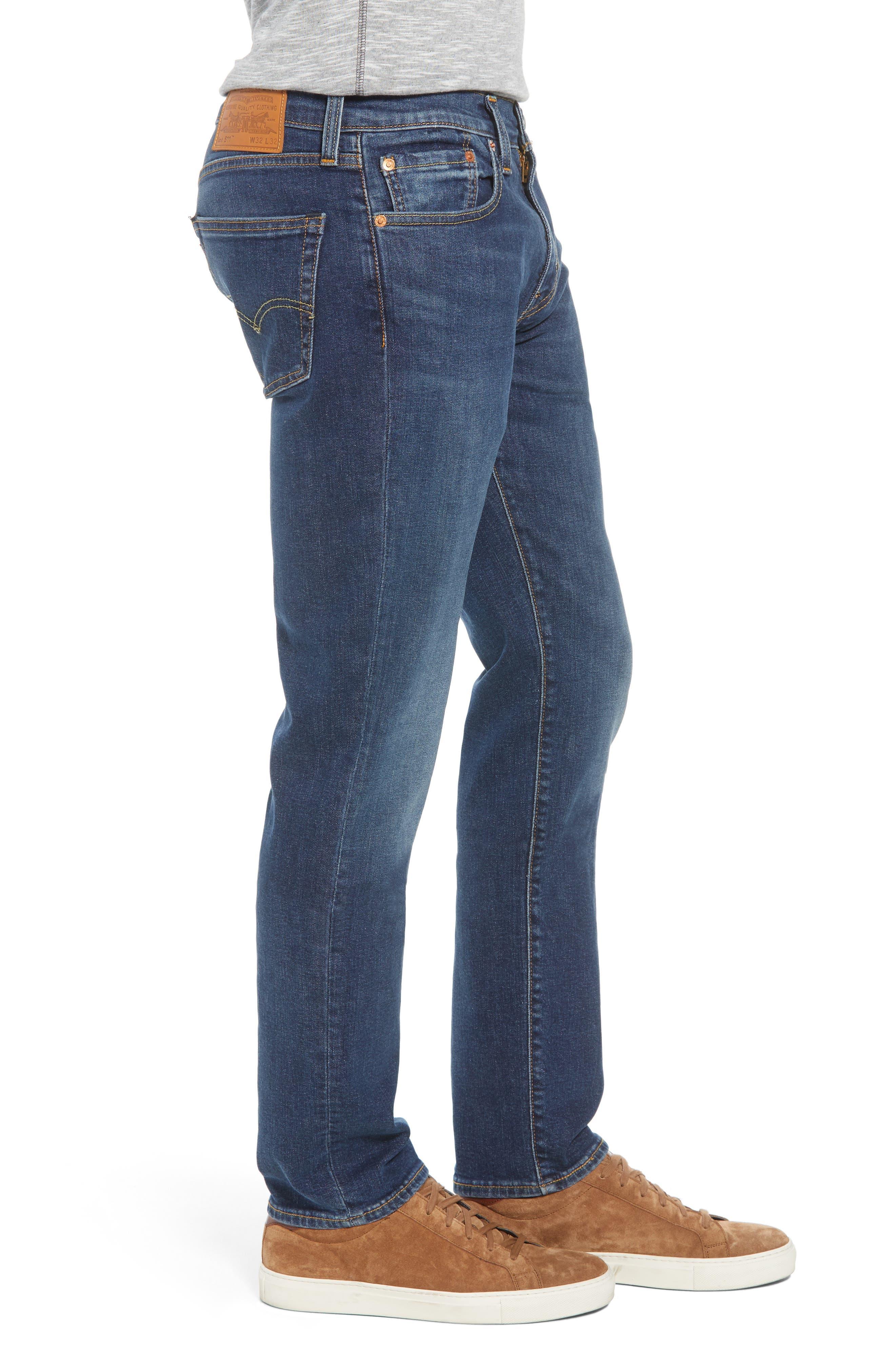 511<sup>™</sup> Slim Fit Jeans,                             Alternate thumbnail 3, color,                             402