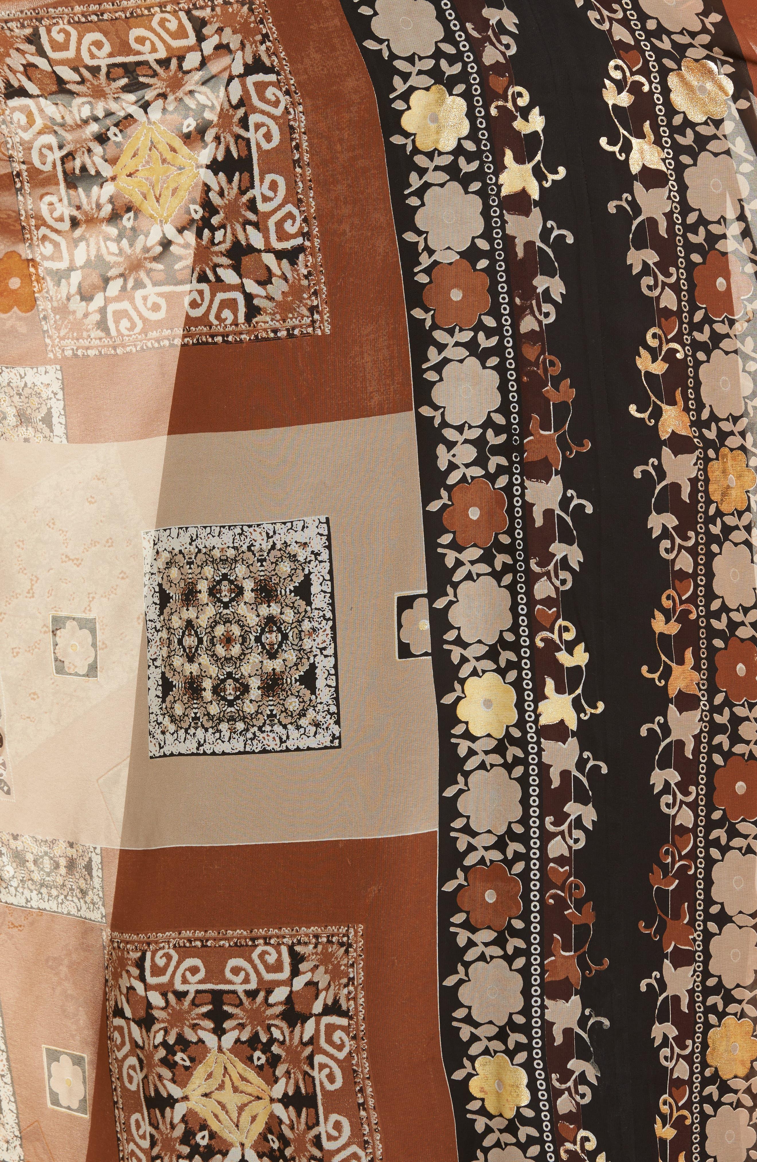 Sonder Embroidered Maxi Dress,                             Alternate thumbnail 5, color,                             200