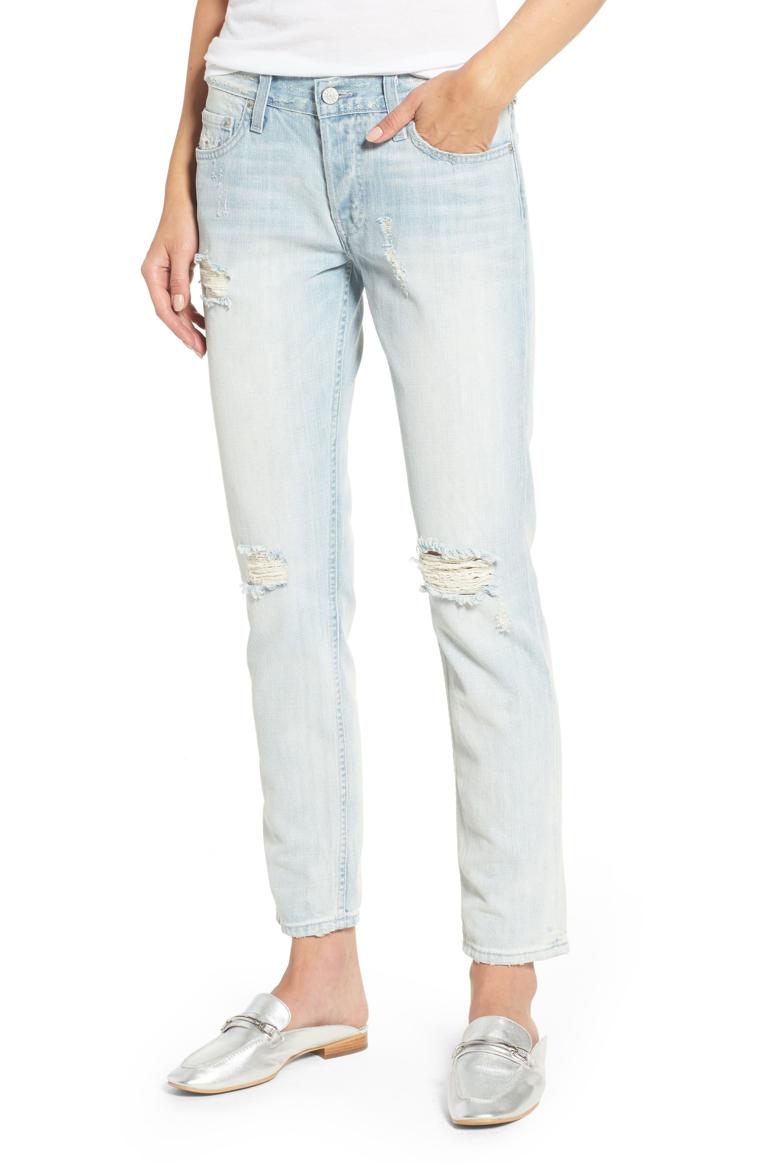 Beckett Distressed Boyfriend Jeans,                         Main,                         color, 429