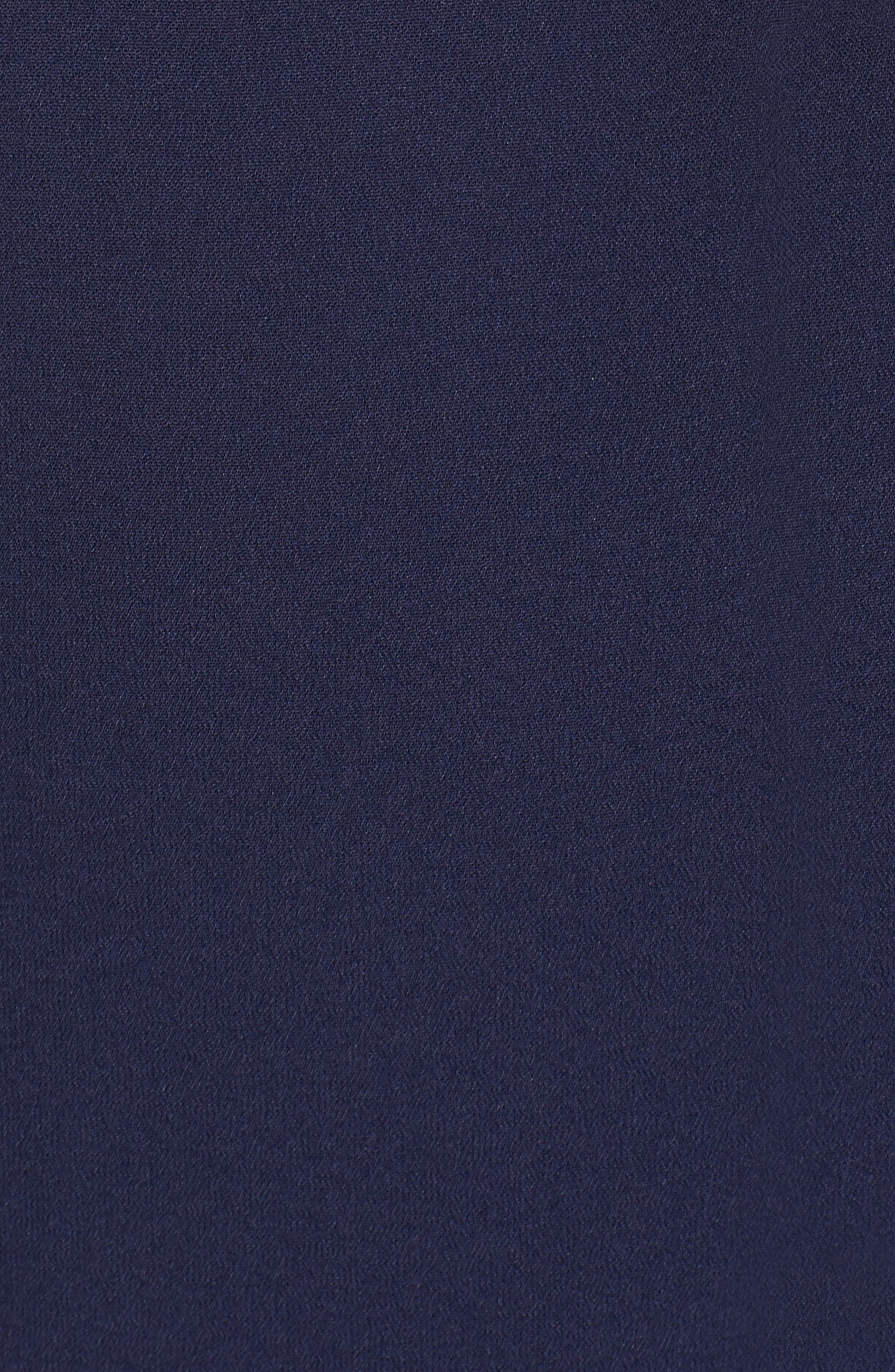 Double Ruffle Flounce Dress,                             Alternate thumbnail 6, color,                             401