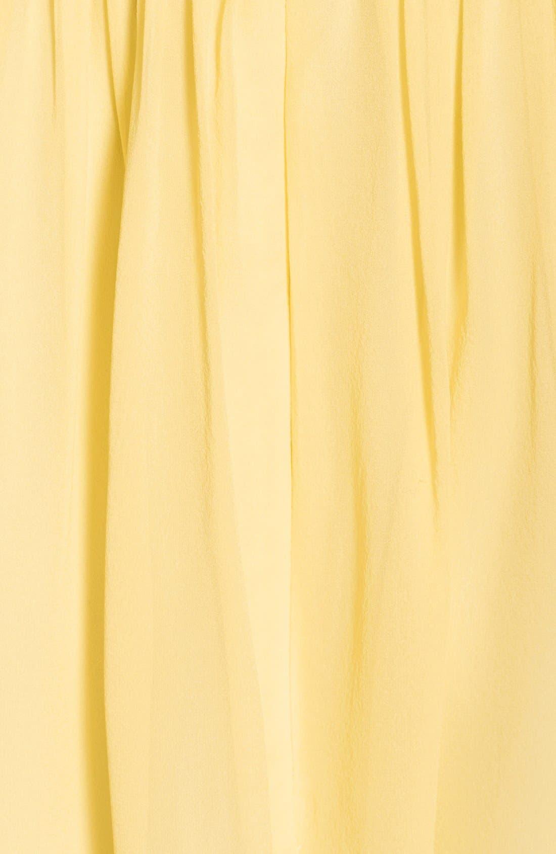 'Morgan' Strapless Silk Chiffon Dress,                             Alternate thumbnail 124, color,