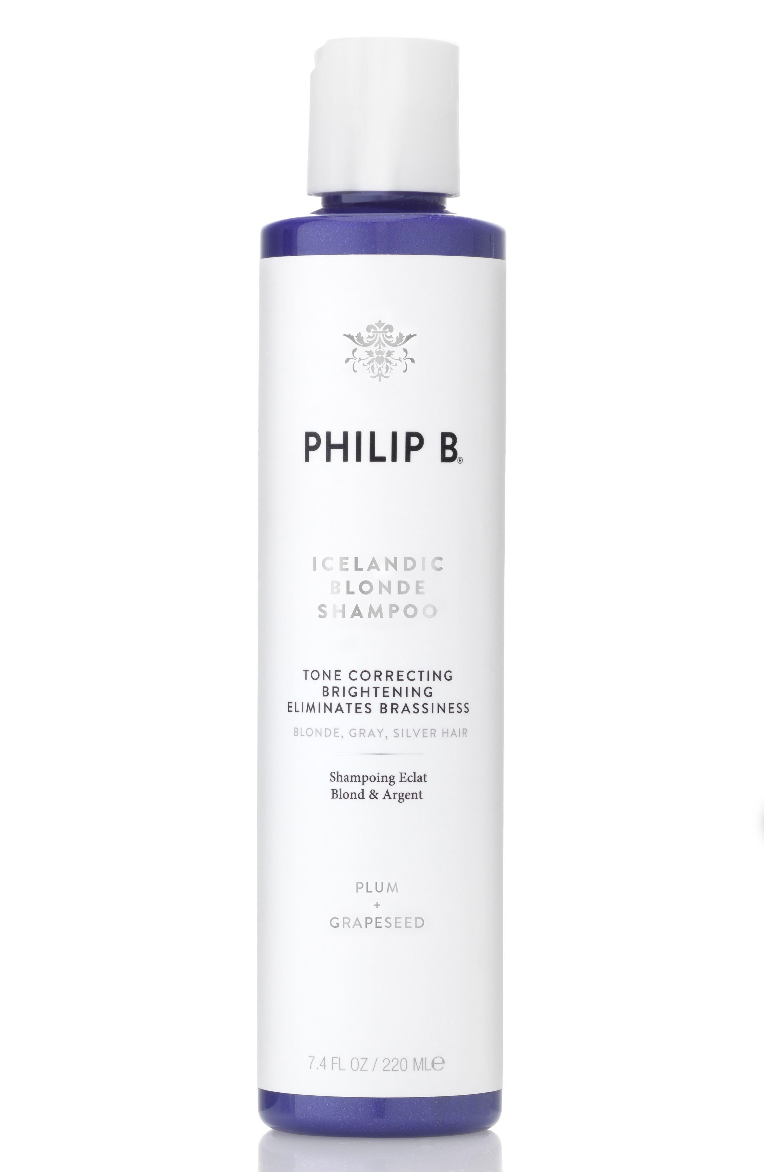 SPACE.NK.apothecary PHILIP B<sup>®</sup> Icelandic Blonde Shampoo,                             Main thumbnail 1, color,                             NO COLOR