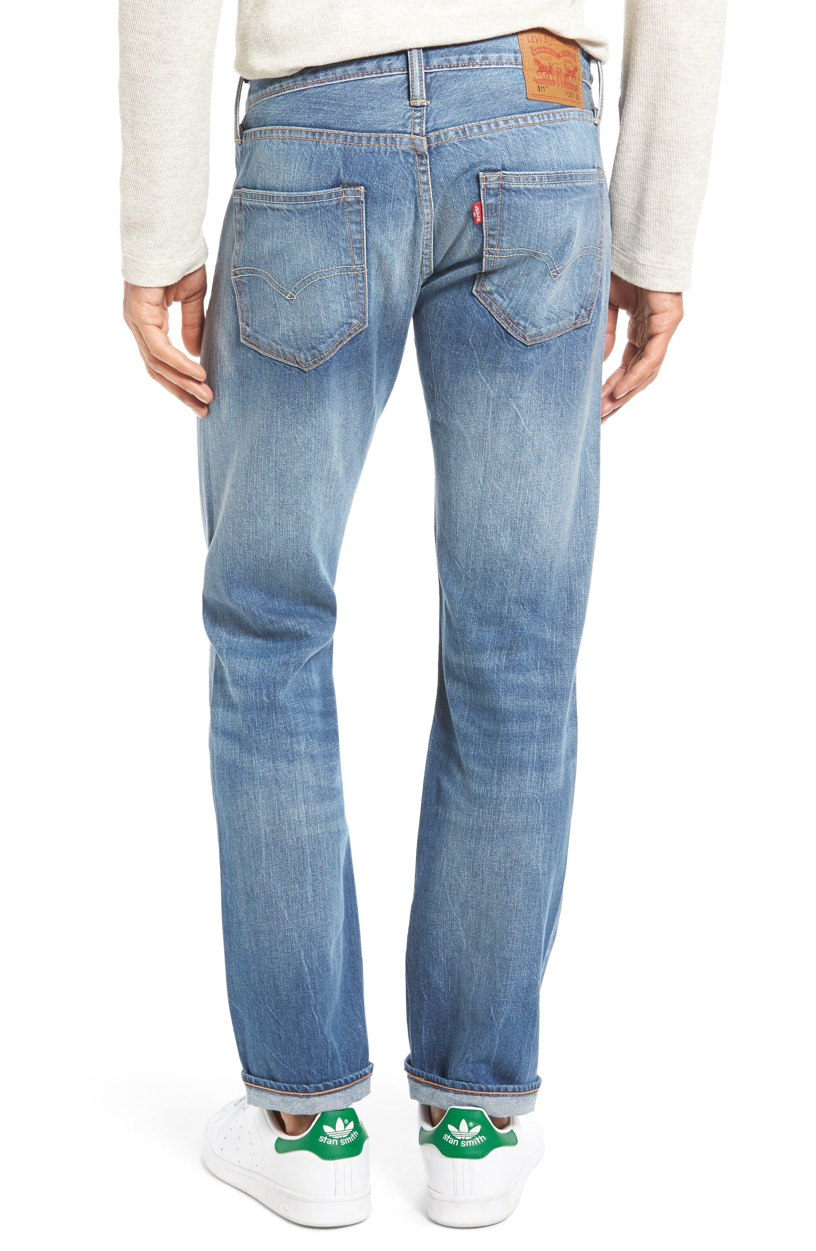 LEVI'S<SUP>®</SUP>,                             511<sup>™</sup> Slim Fit Jeans,                             Alternate thumbnail 2, color,                             425