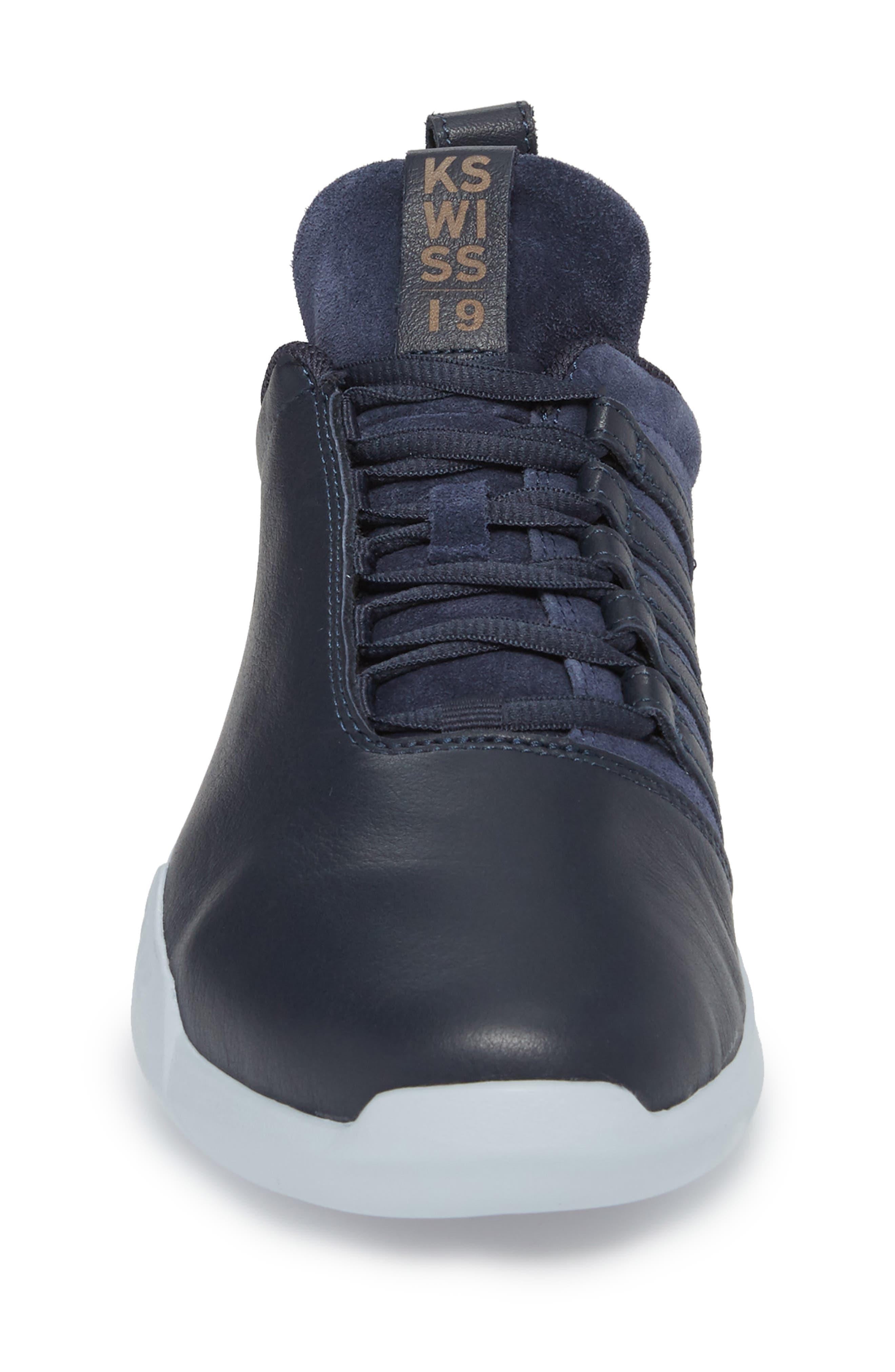 Gen-K Icon Sneaker,                             Alternate thumbnail 4, color,                             NAVY/CELESTIAL BLUE