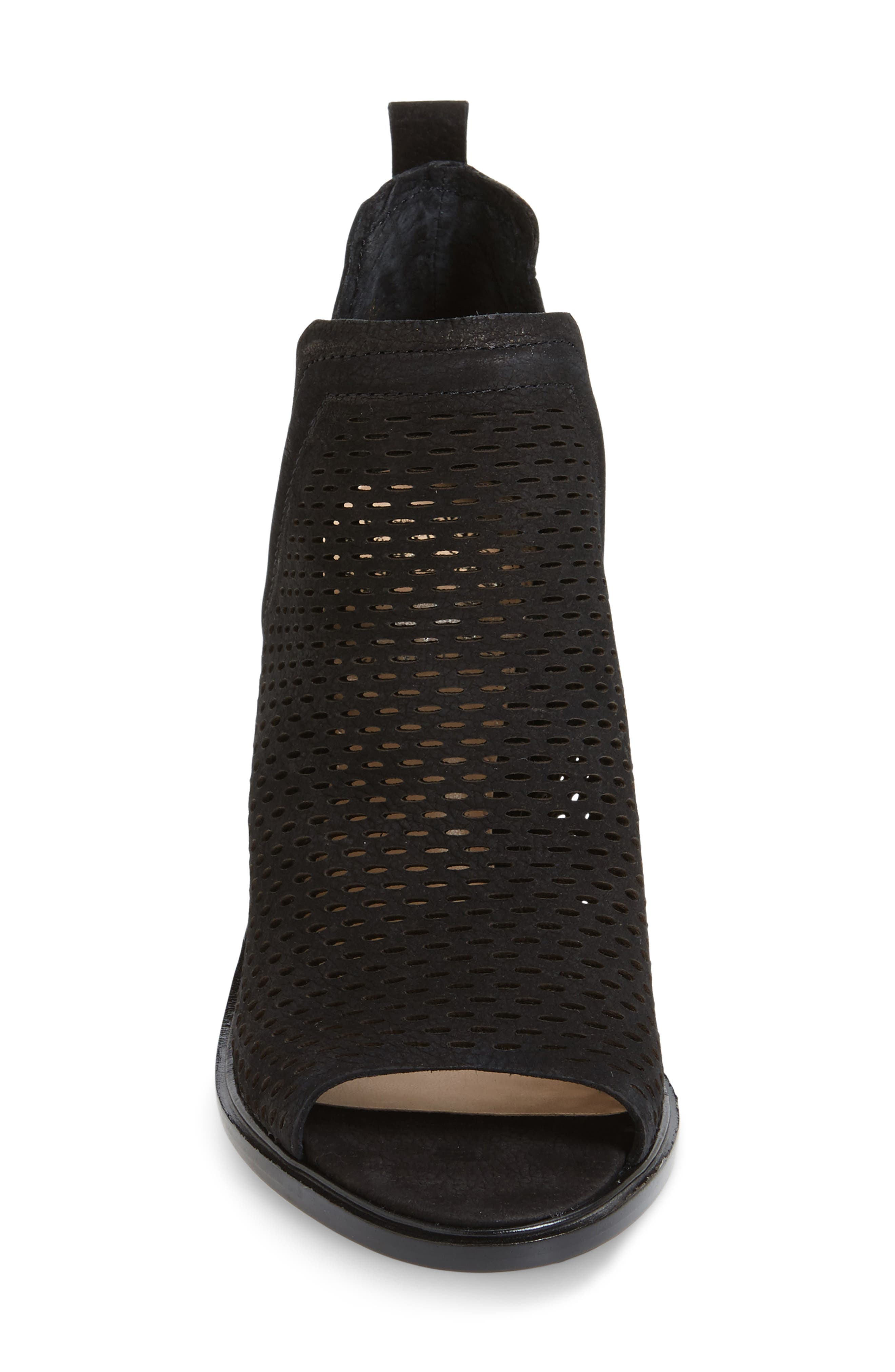 Kensa Peep Toe Bootie,                             Alternate thumbnail 3, color,                             001