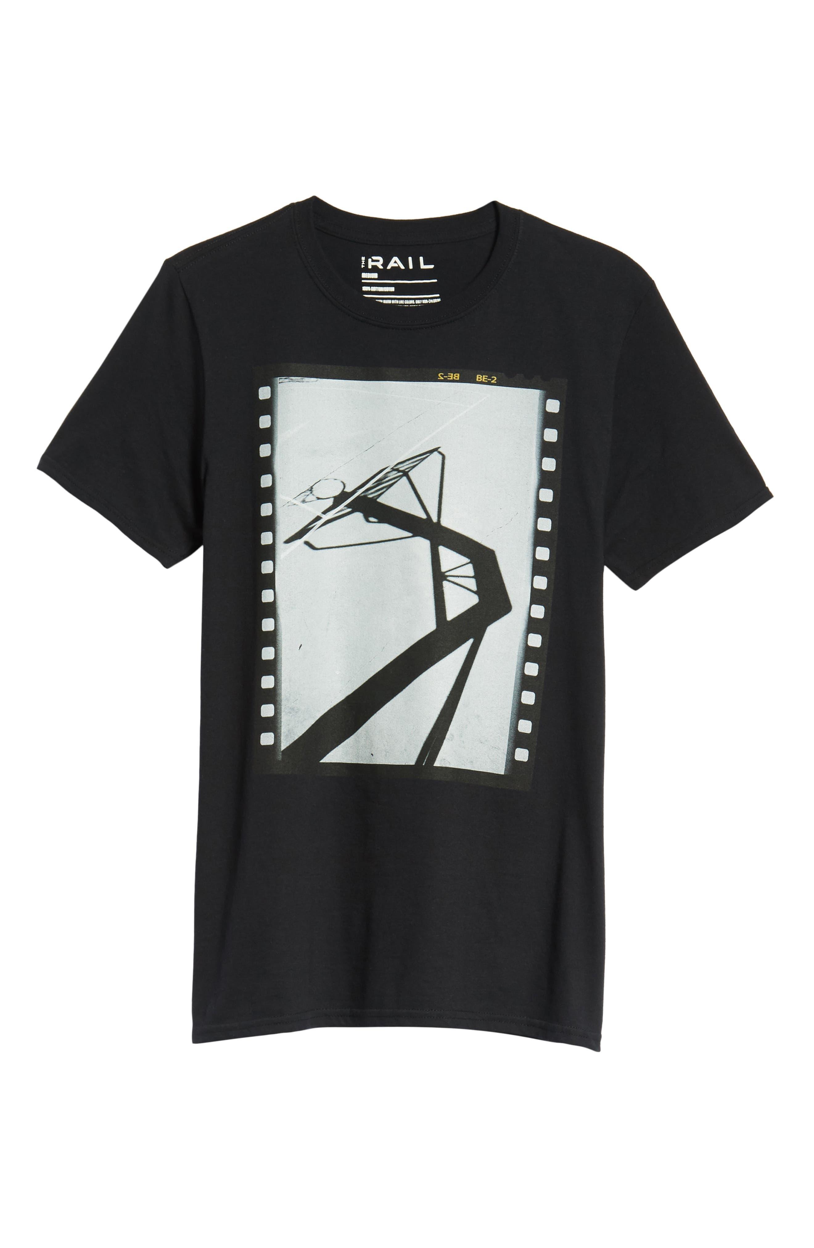 Court Shadow T-Shirt,                             Alternate thumbnail 6, color,                             001