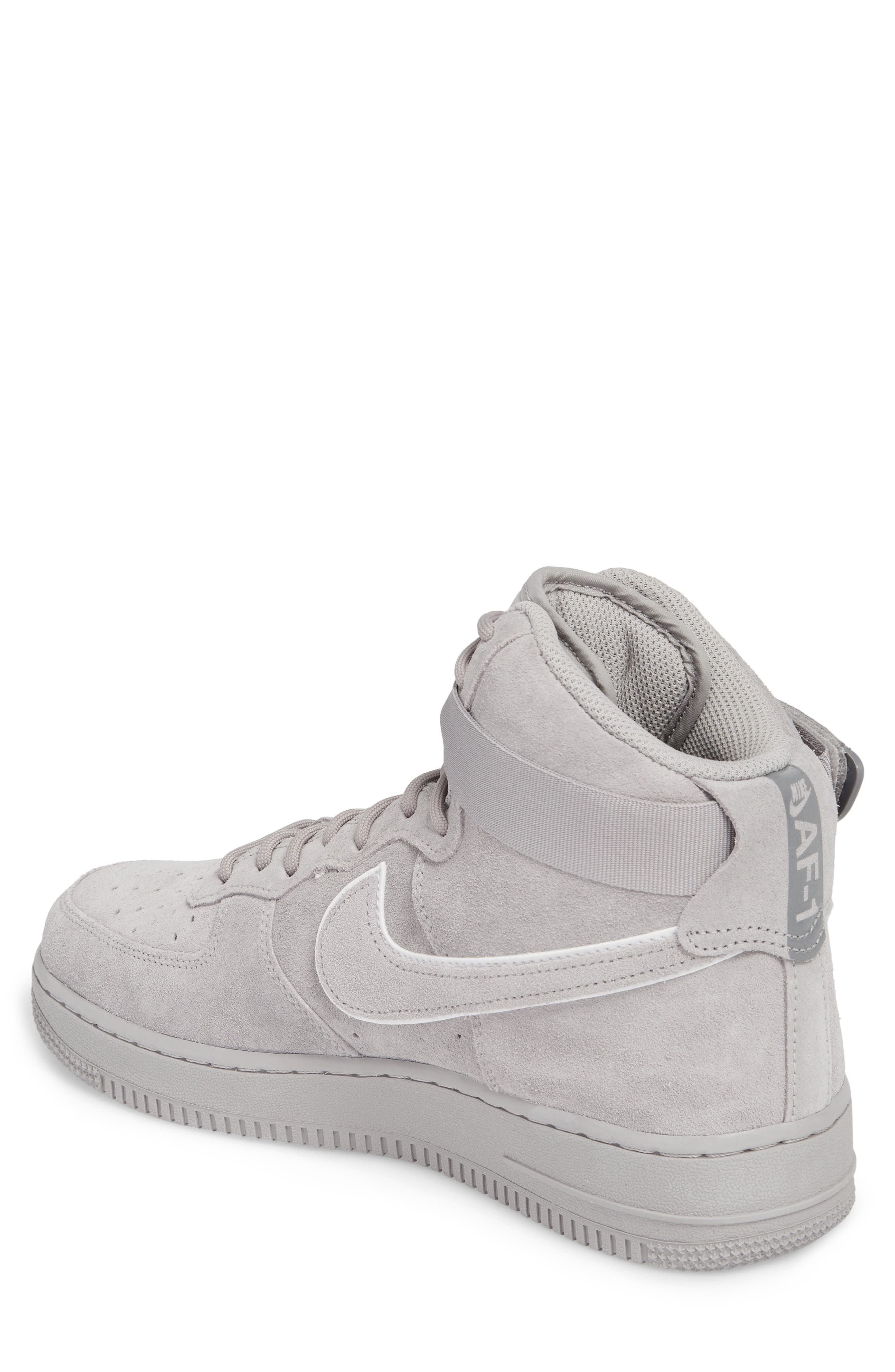 Air Force 1 High '07 LV8 Suede Sneaker,                             Alternate thumbnail 2, color,                             023