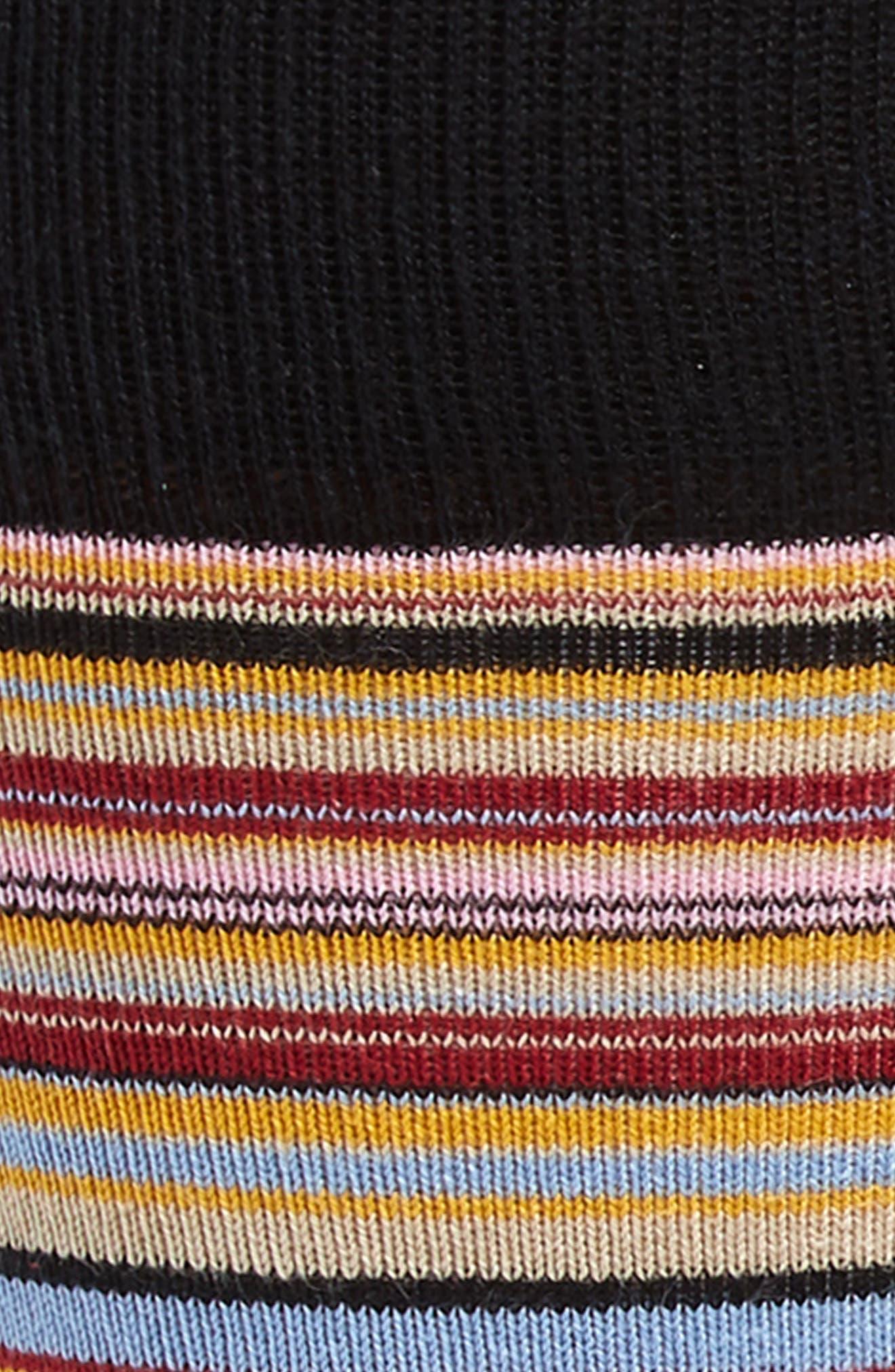 3-Pack Stripe Socks,                             Alternate thumbnail 2, color,                             RED/ BLUE MULTI
