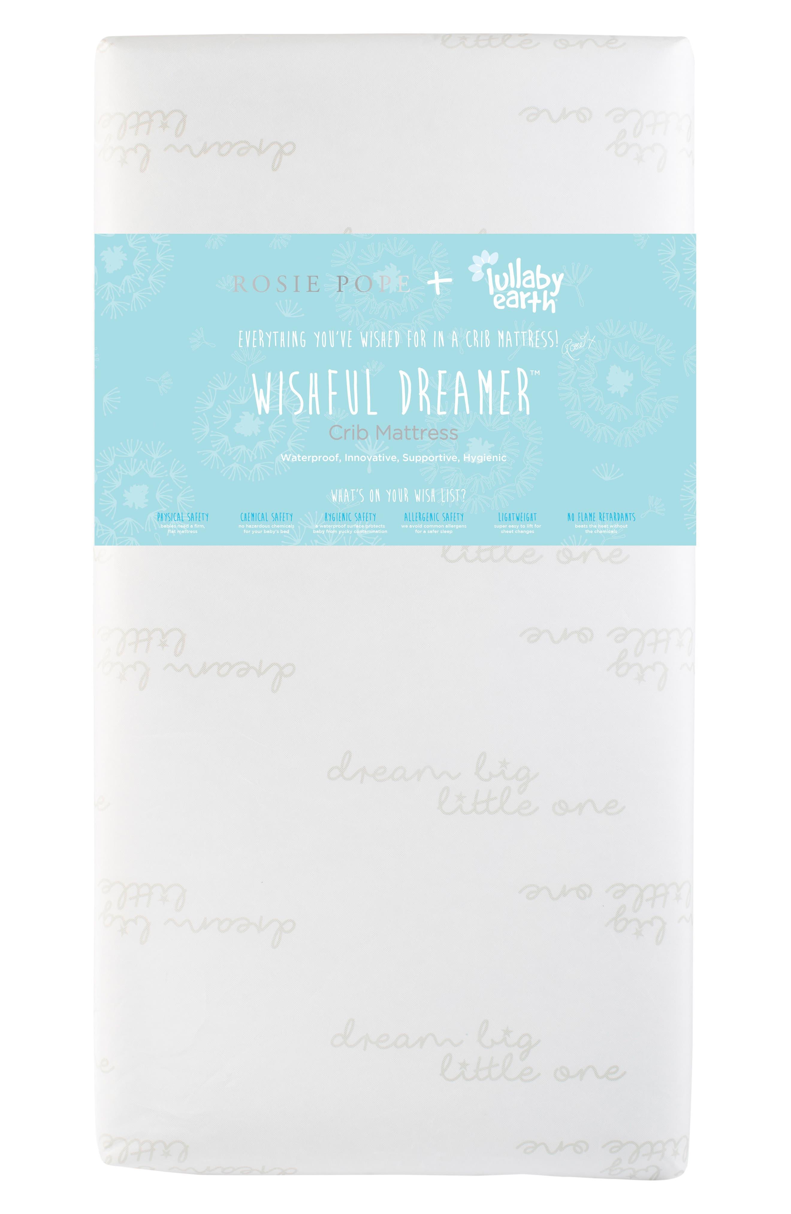 x Rosie Pope Wishful Dreamer Crib Mattress,                             Alternate thumbnail 2, color,                             100