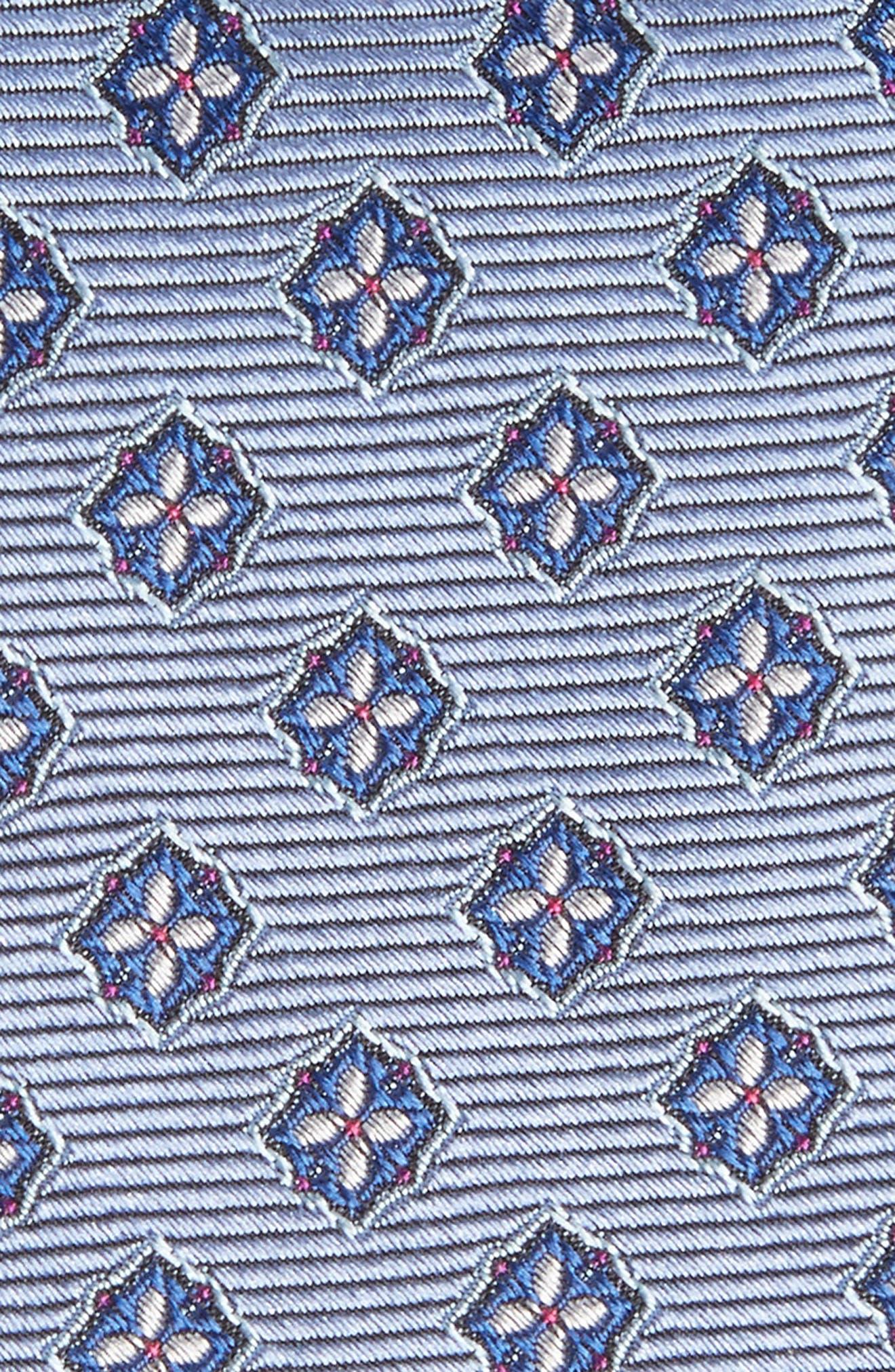 Medallion Silk Tie,                             Alternate thumbnail 2, color,                             400