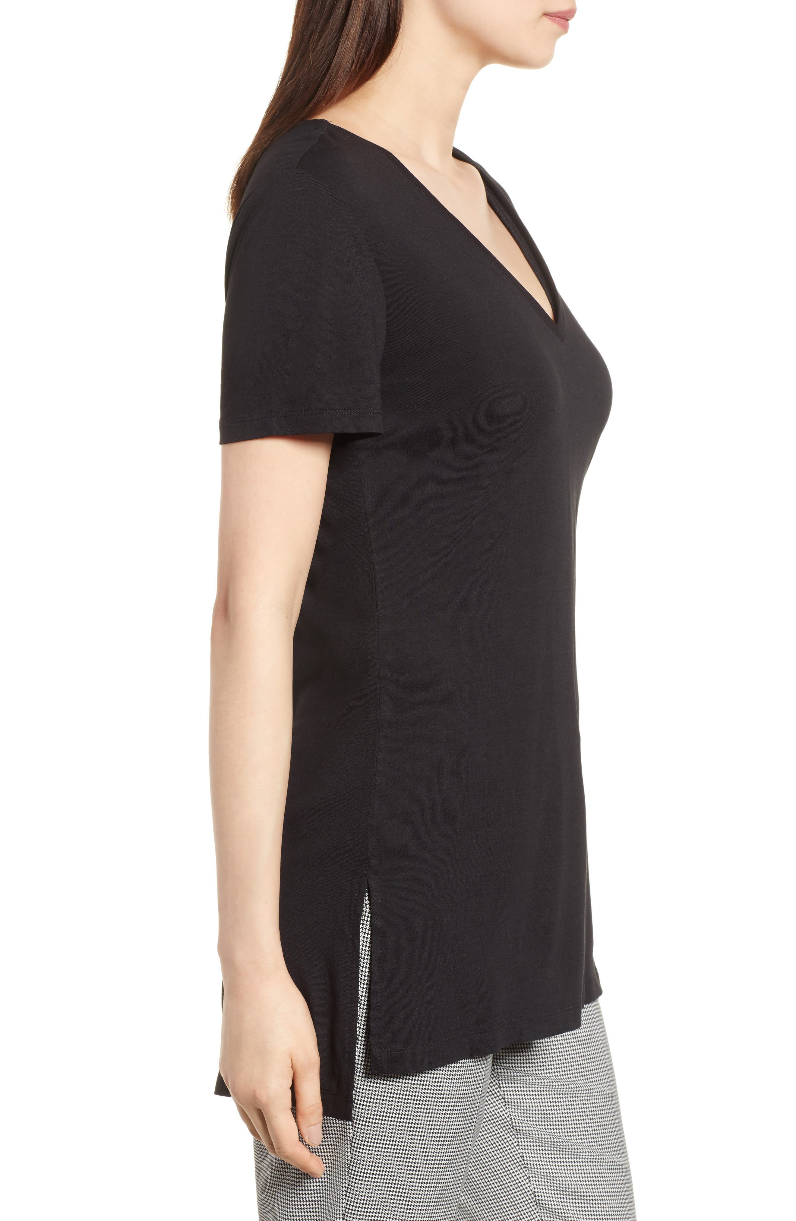 V-Neck Tunic Tee,                             Alternate thumbnail 30, color,