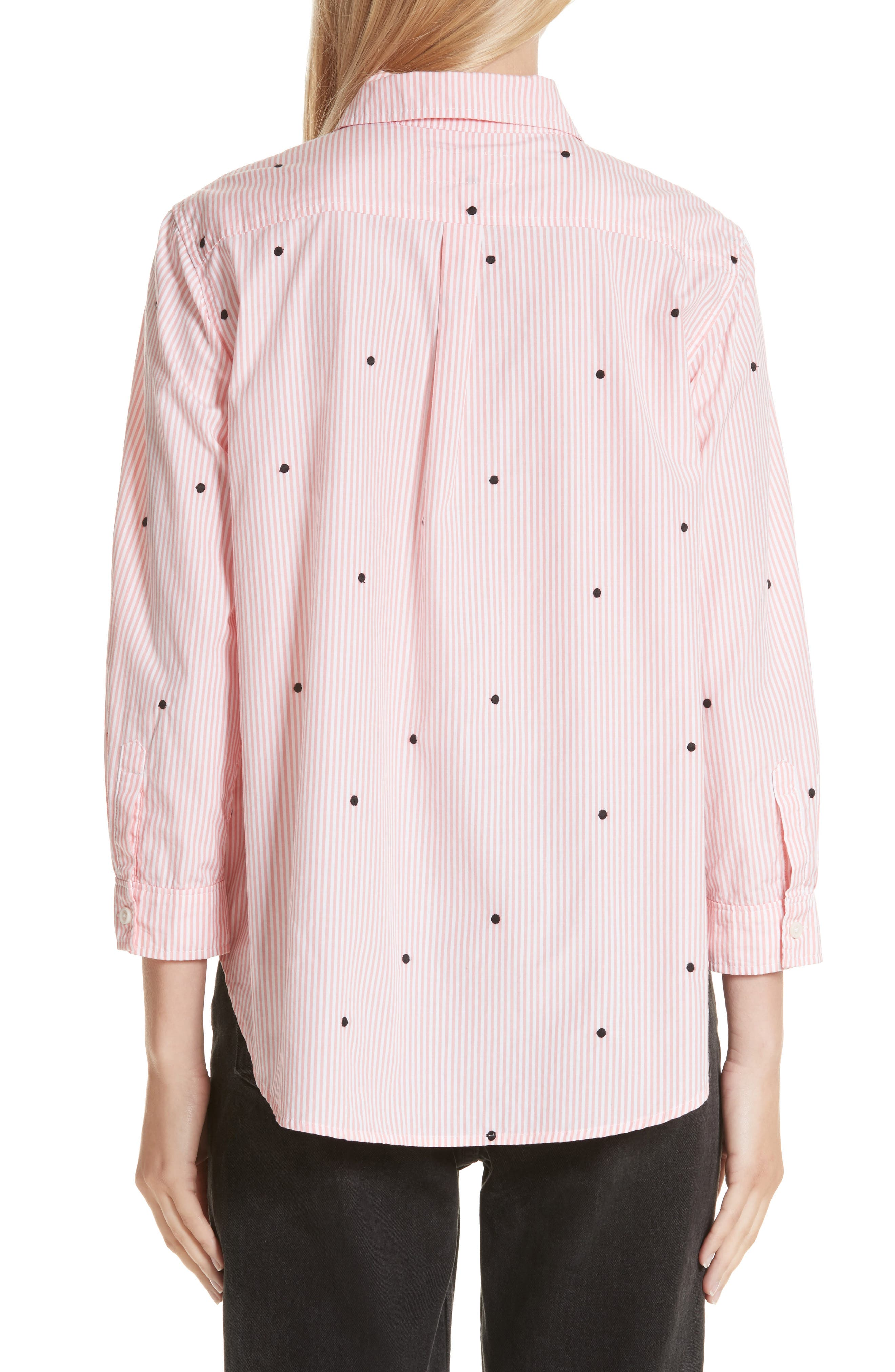 The Swing Oxford Embroidered Shirt,                             Alternate thumbnail 2, color,                             650