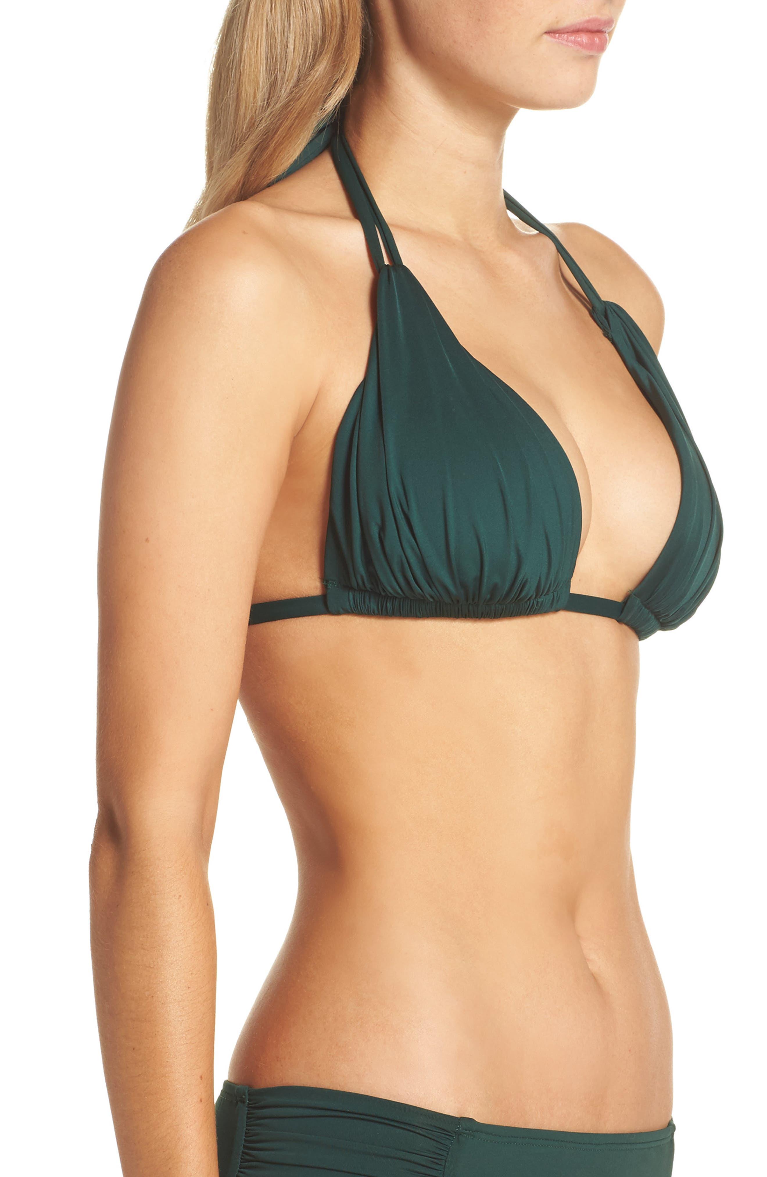 Island Blanca Halter Bikini Top,                             Alternate thumbnail 26, color,